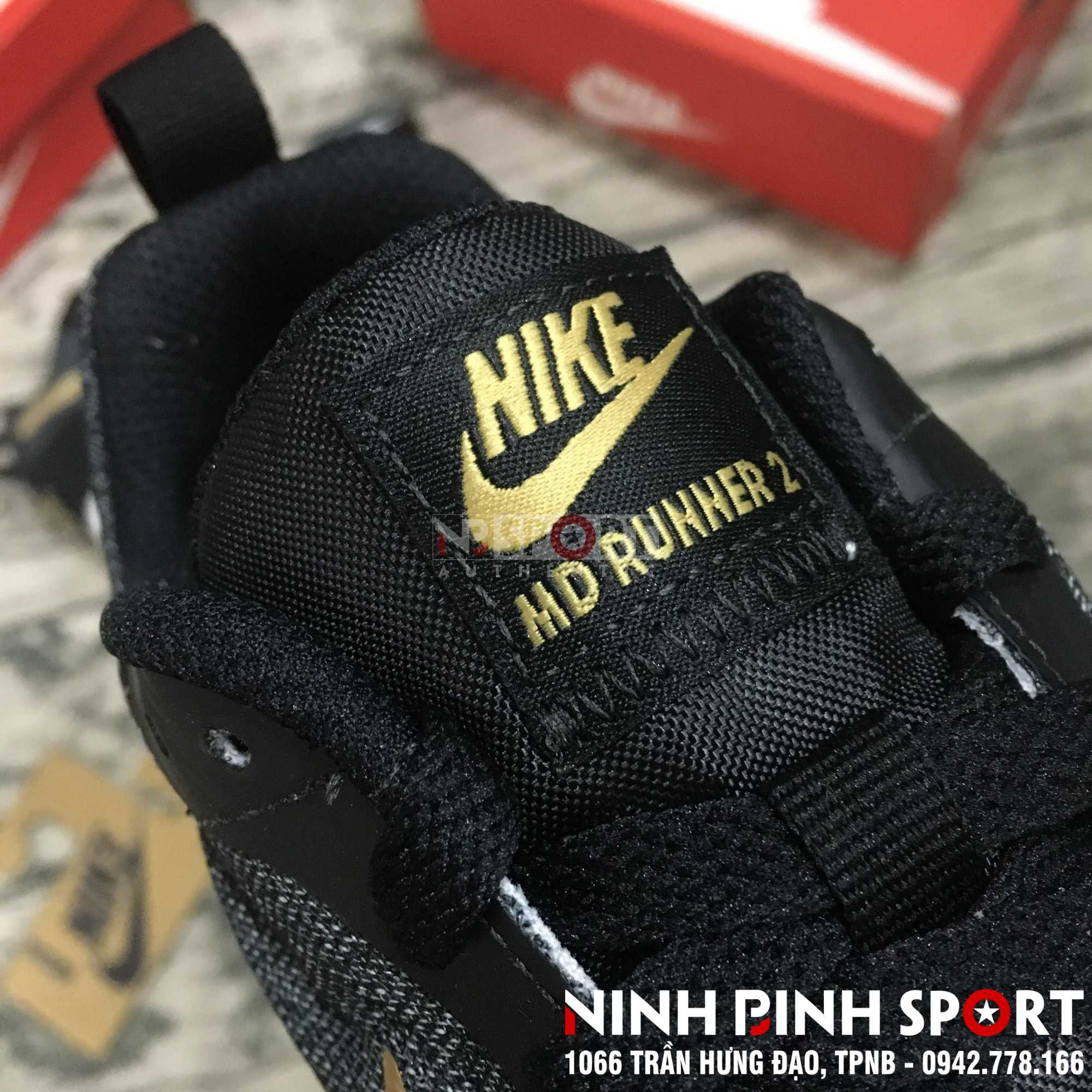 Giày thể thao nam Nike MD Runner 2 Eng 916774-011