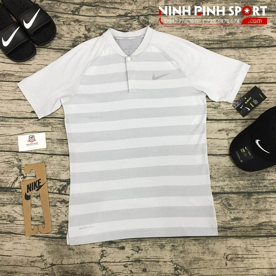 Áo Polo Nike Golf Zonal Cooling Momentum Nam 933319-100