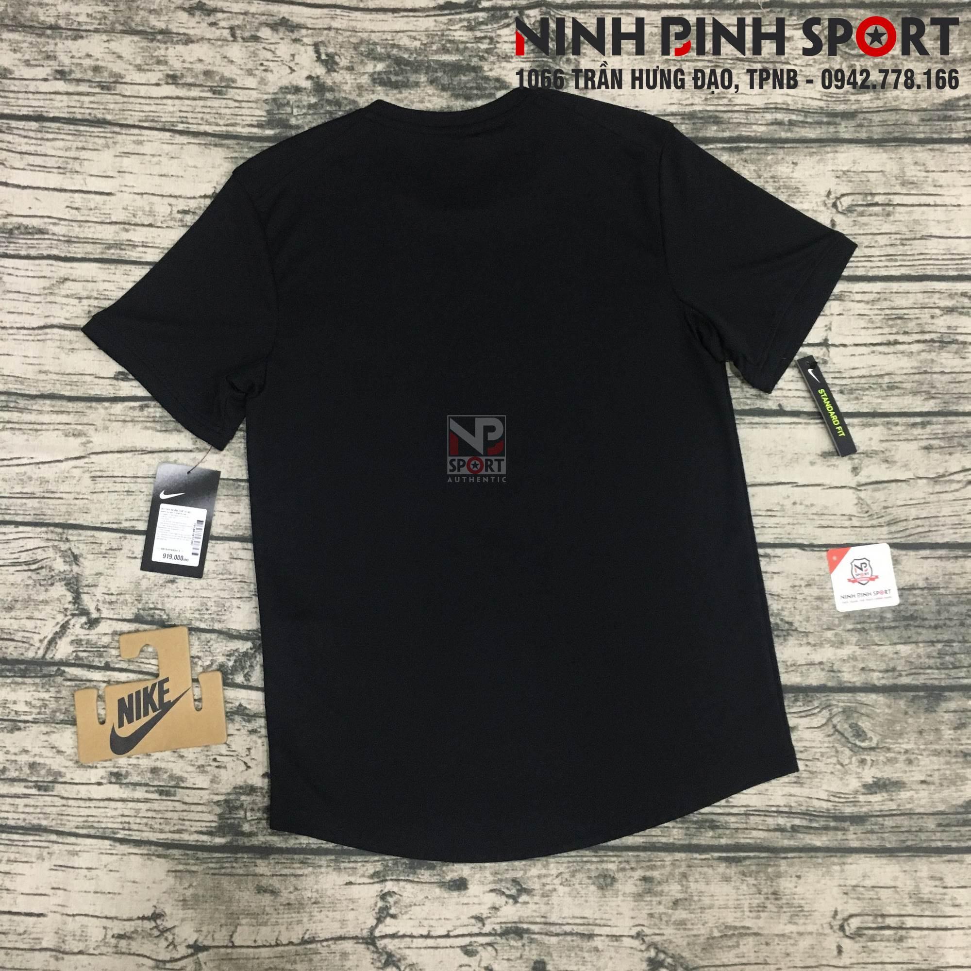 Áo thể thao nam Nike Dri-Fit S/S Top Black 939135-010