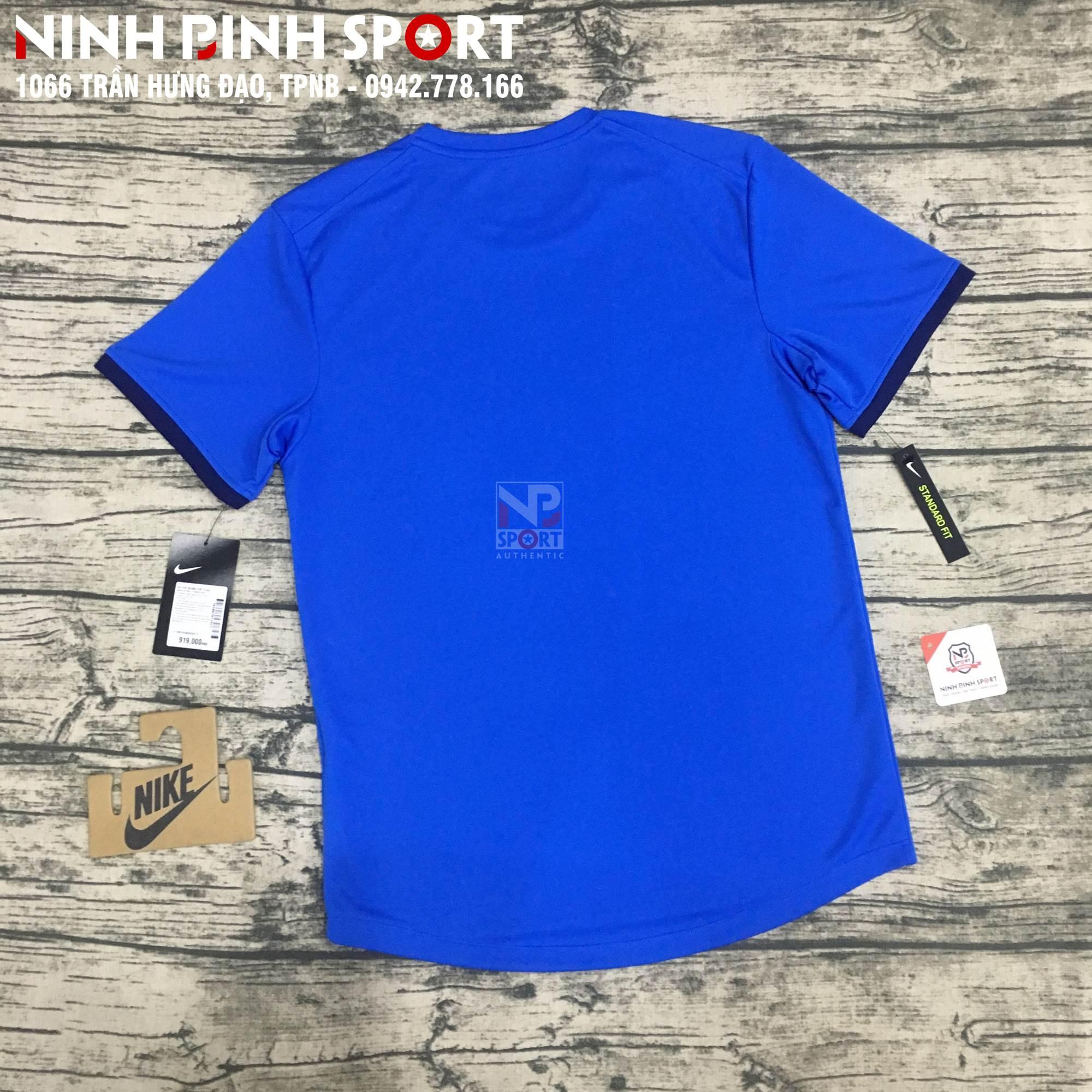 Áo thể thao nam Nike Dri-Fit S/S Top Blue 939135-403