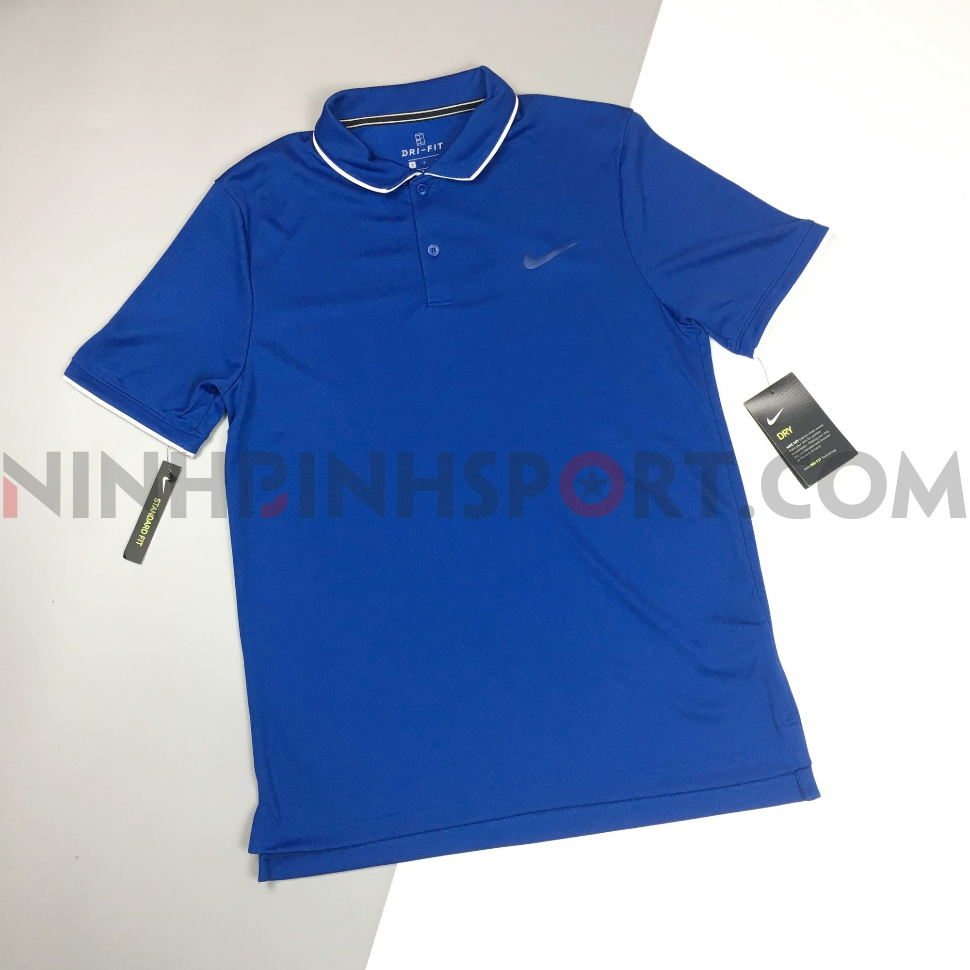 Áo thể thao nam Nike Court Dri-Fit Team Tennis Polo 939138-438