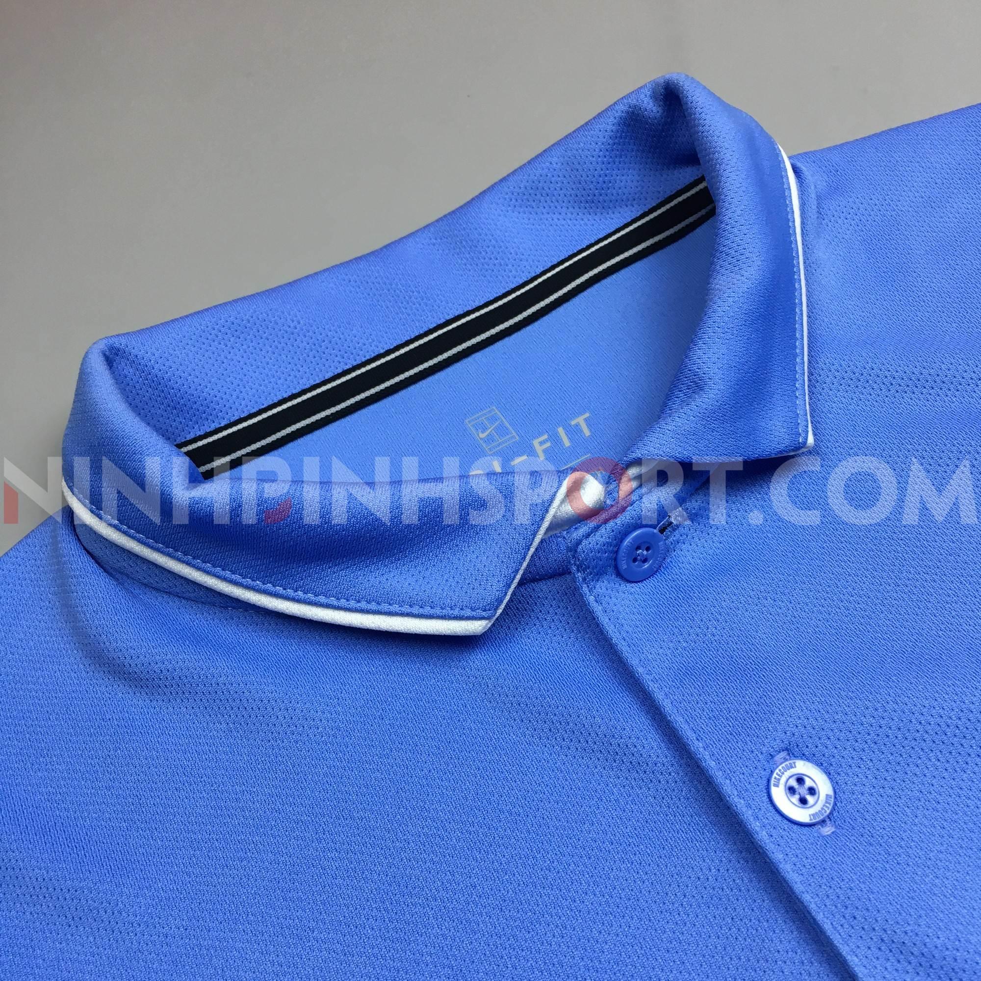Áo thể thao nam Nike Dry Polo Team Light Blue 939138-478