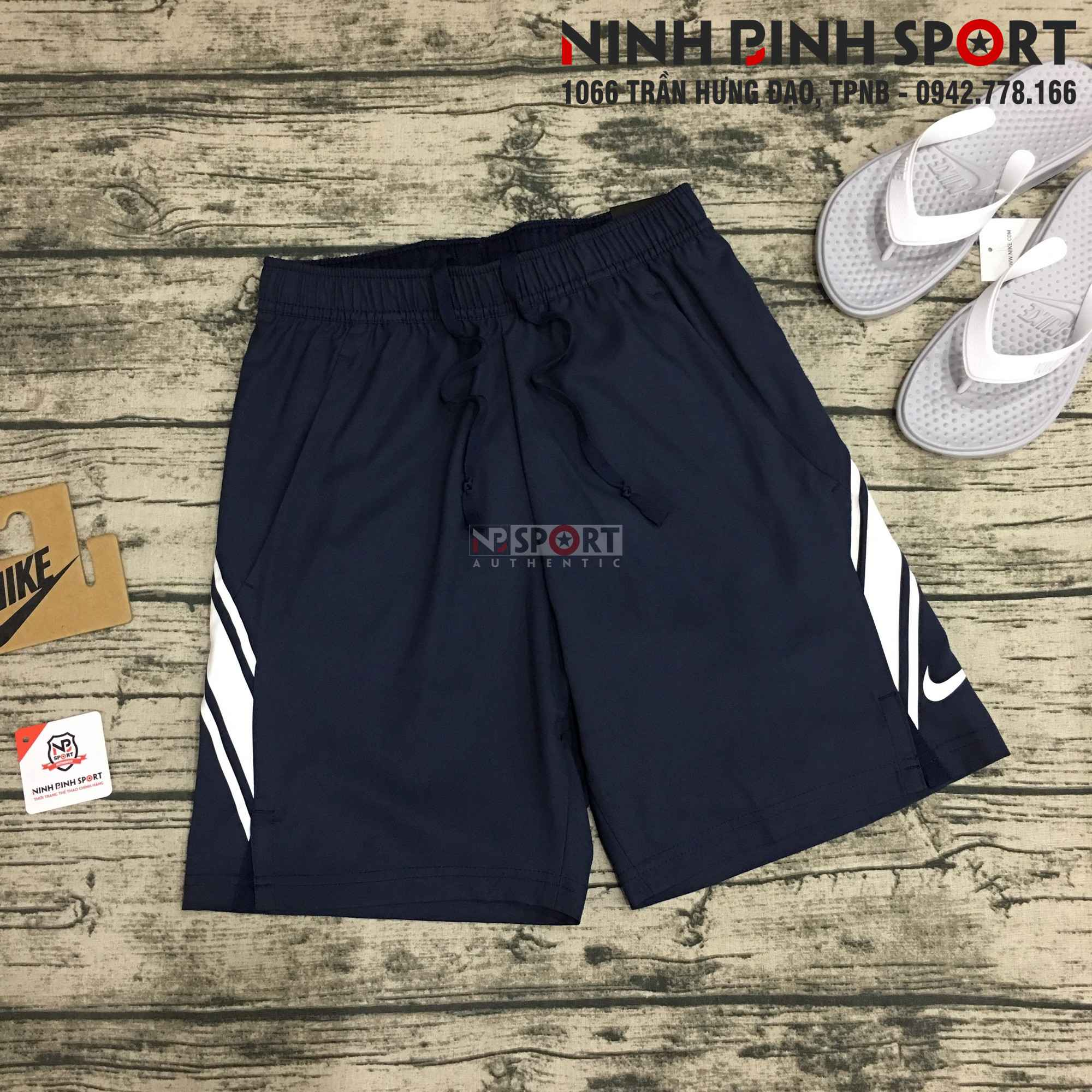 Quần thể thao nam Nike coat Dri-fit 9in 939266-451