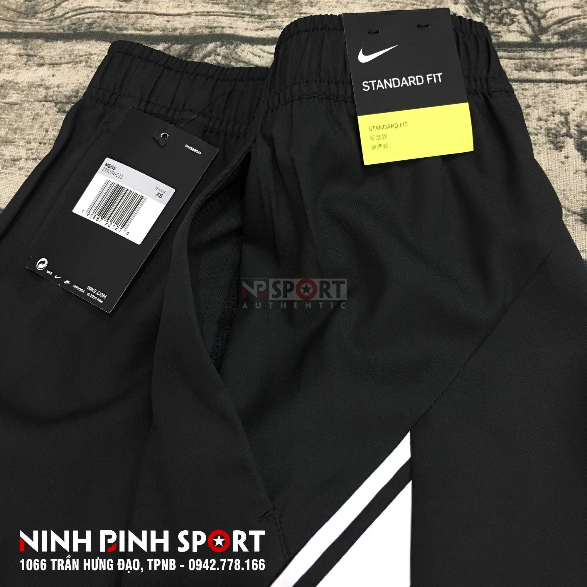 Quần thể thao nam Nike Court Dry Short 7in Black 939274-011