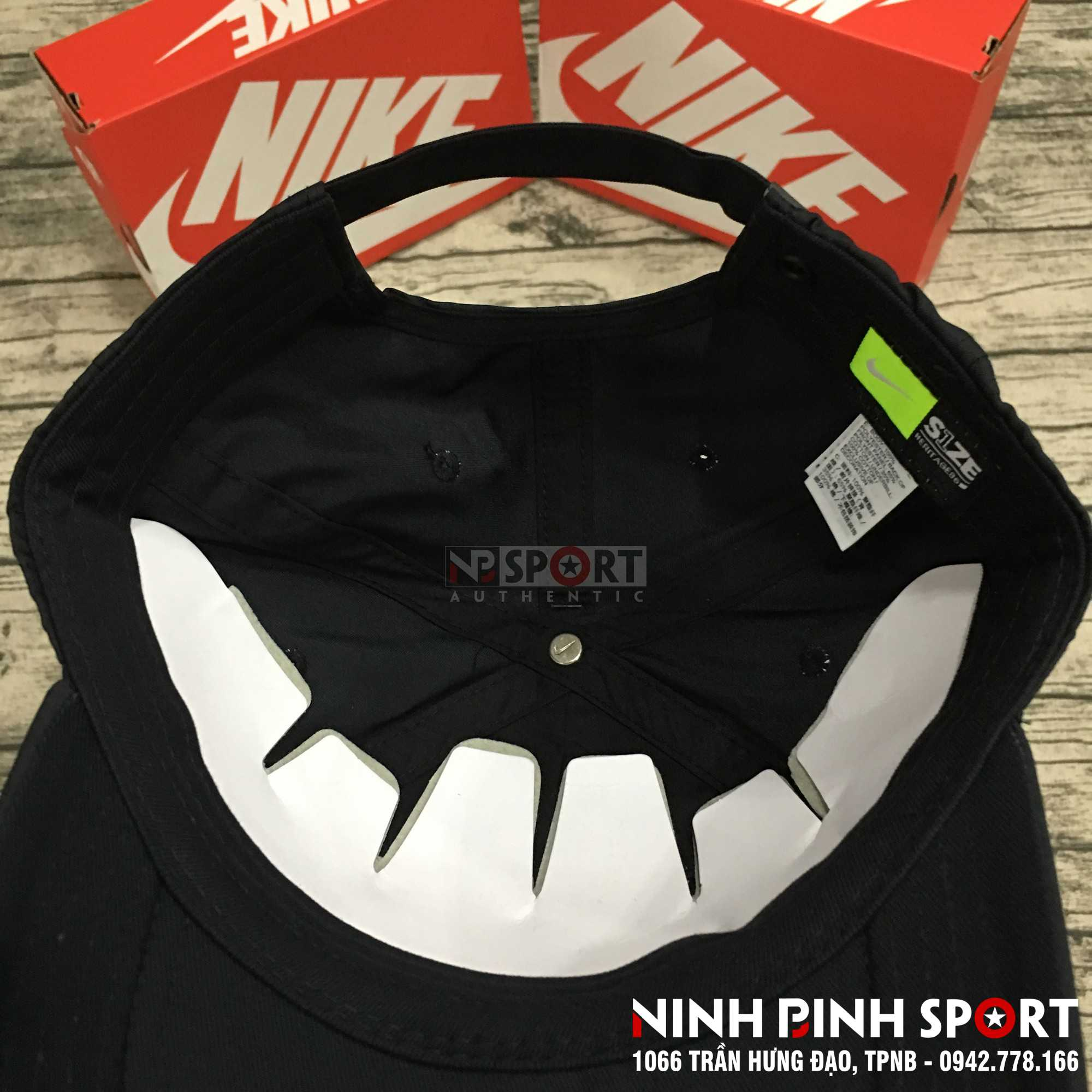 Mũ thể thao nam Nike Heritage 86 Metal Futura Black 942212-010