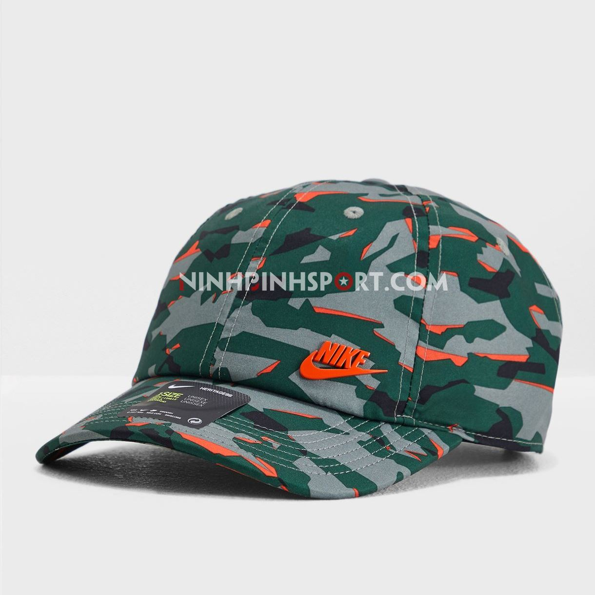 Mũ thể thao nam Nike Arobill H86 Camo Cap 942212-323