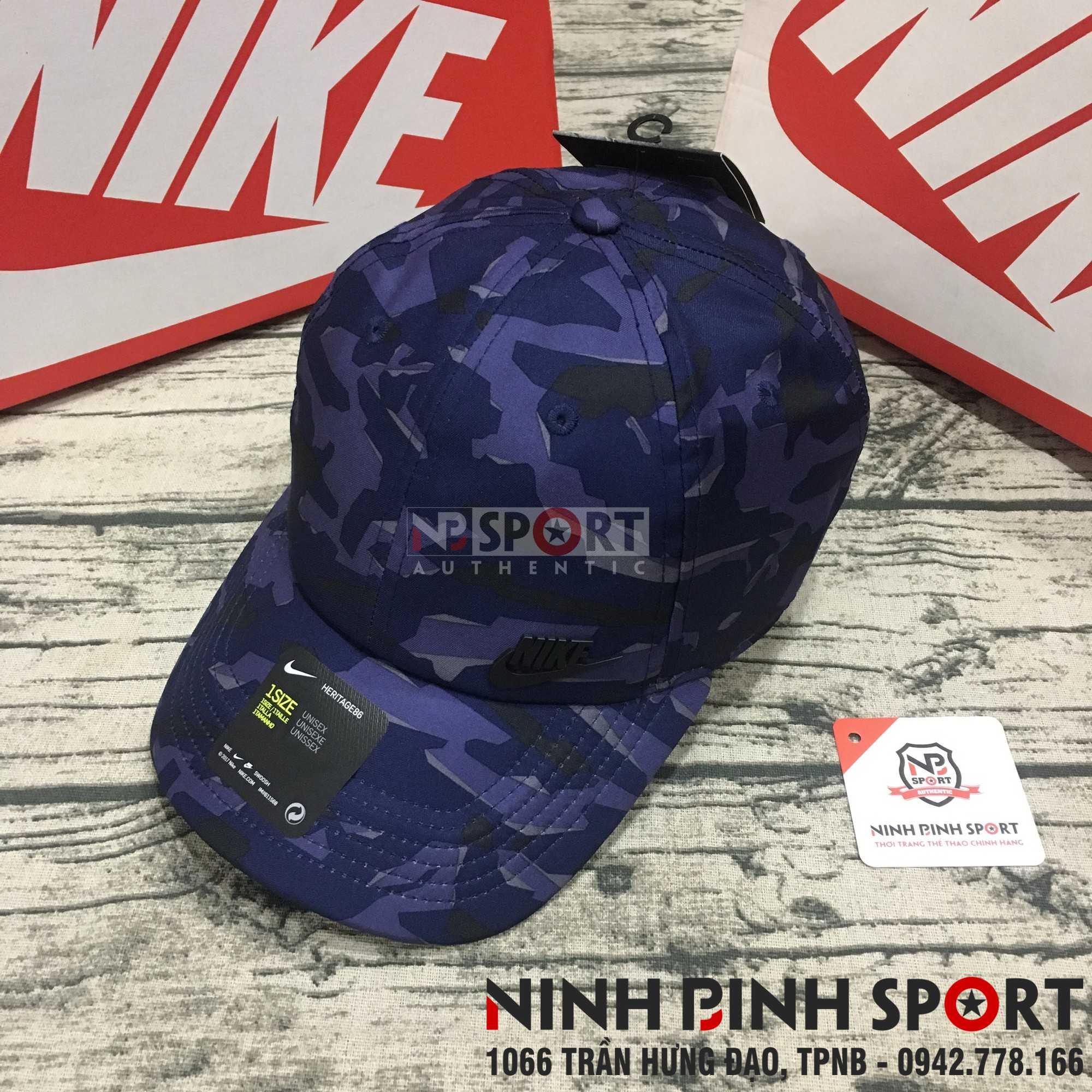 Mũ thể thao nam Nike Heritage 86 Metal Futura Camo 942212-410
