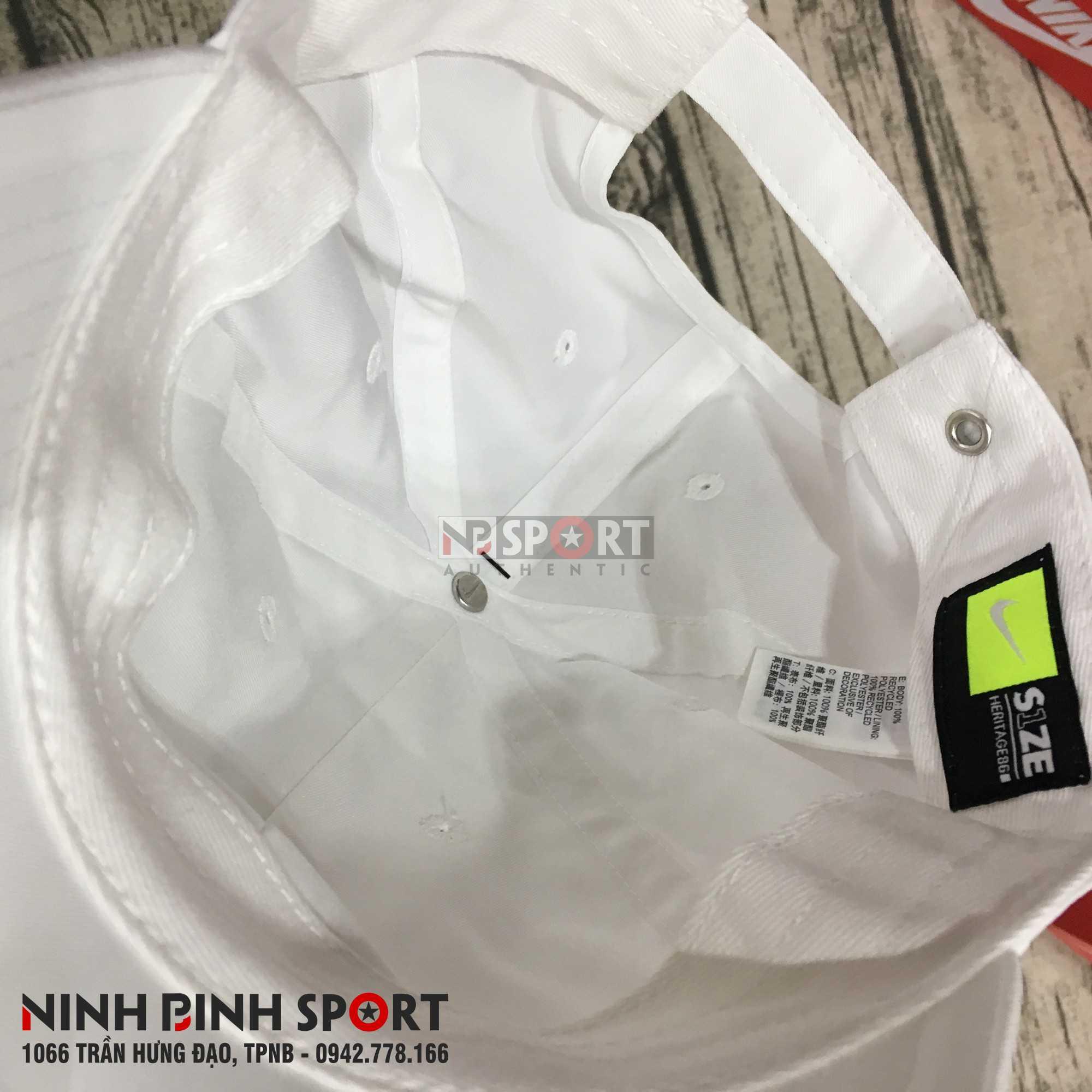 Mũ thể thao nam Nike Metal Swoosh H86 943092-100