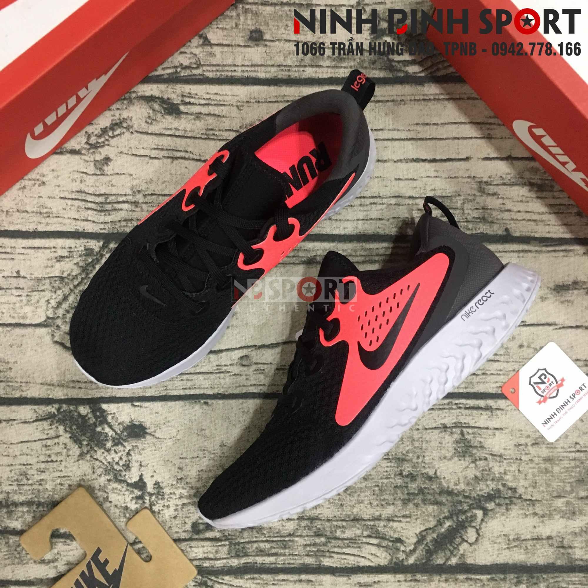 Giày thể thao nam Nike Legend React Running AA1625-005