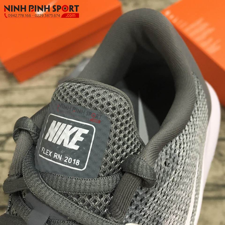 Giày thể thao nam Nike Running Flex Grey AA7397-010