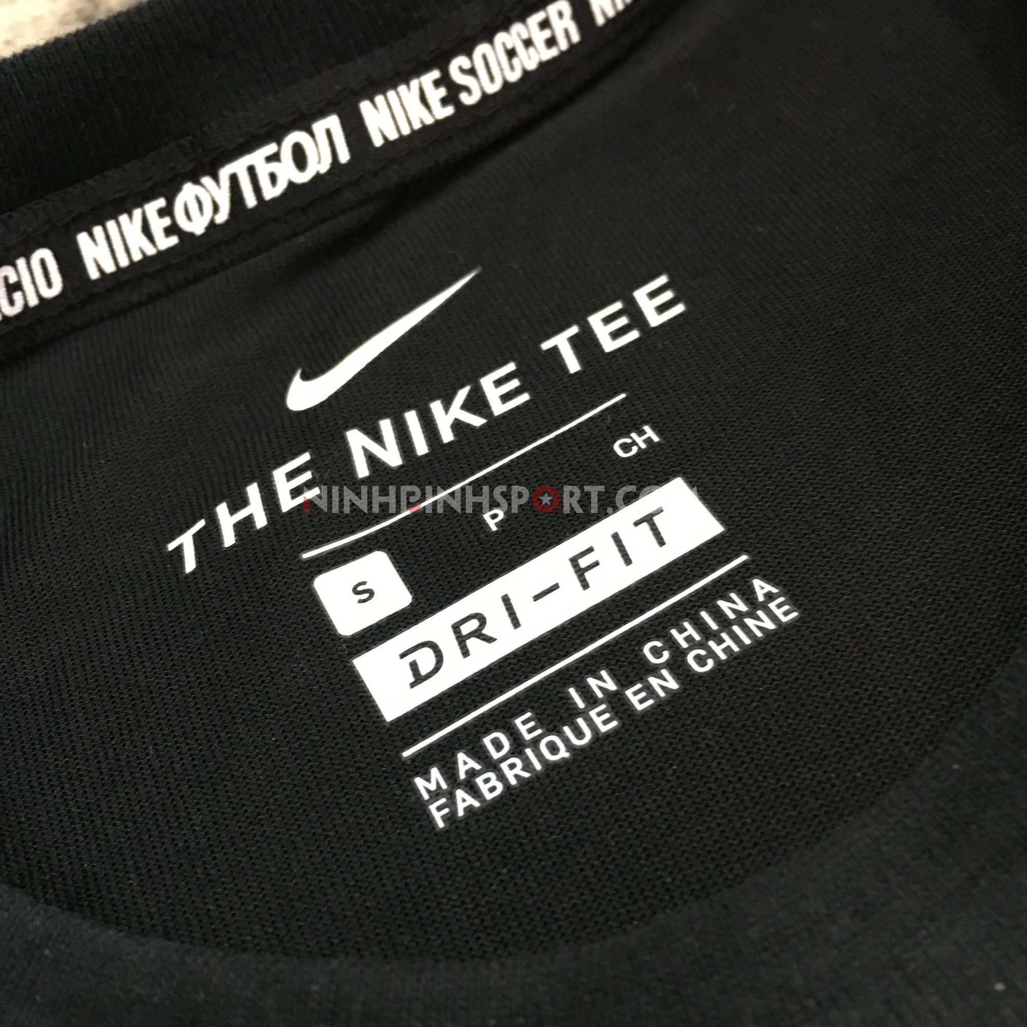 Áo thể thao nam Nike FC Dri-Fit Tee Black AJ7414-010