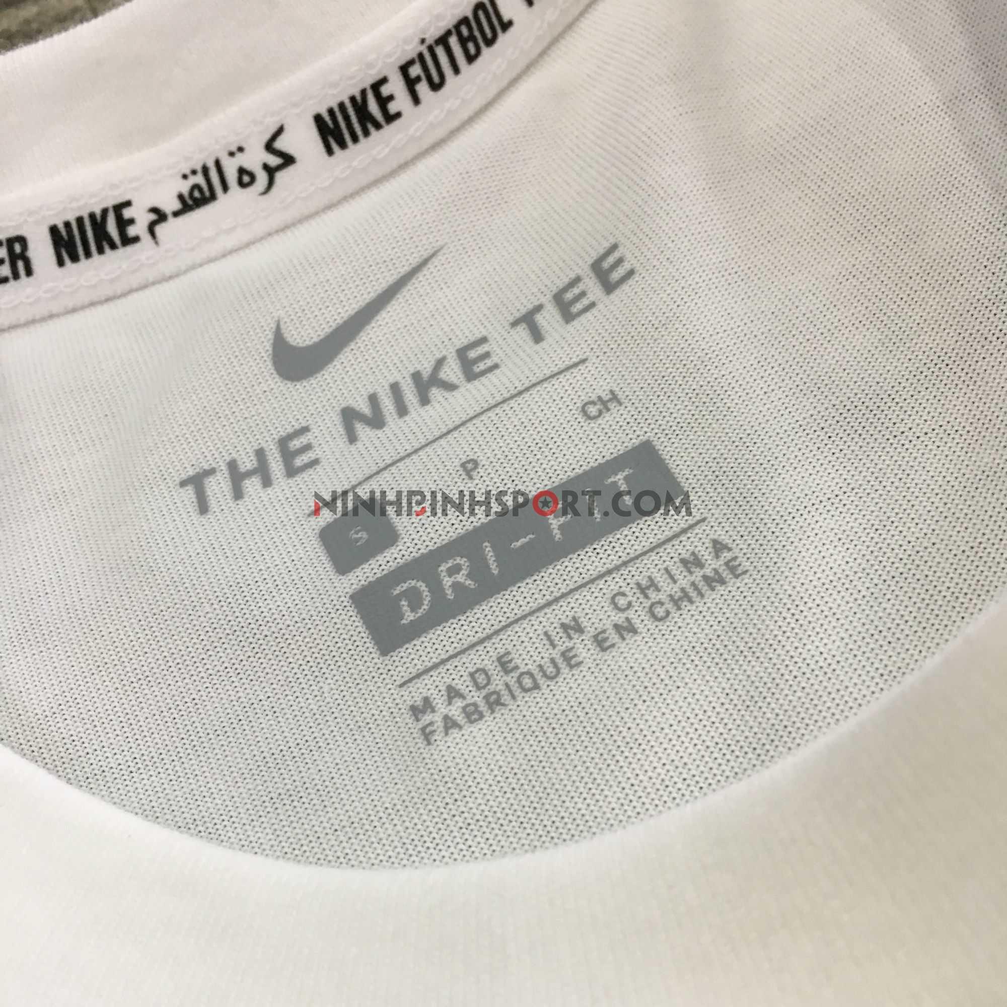 Áo thể thao nam Nike FC Dri-Fit Tee White  AJ7414-100