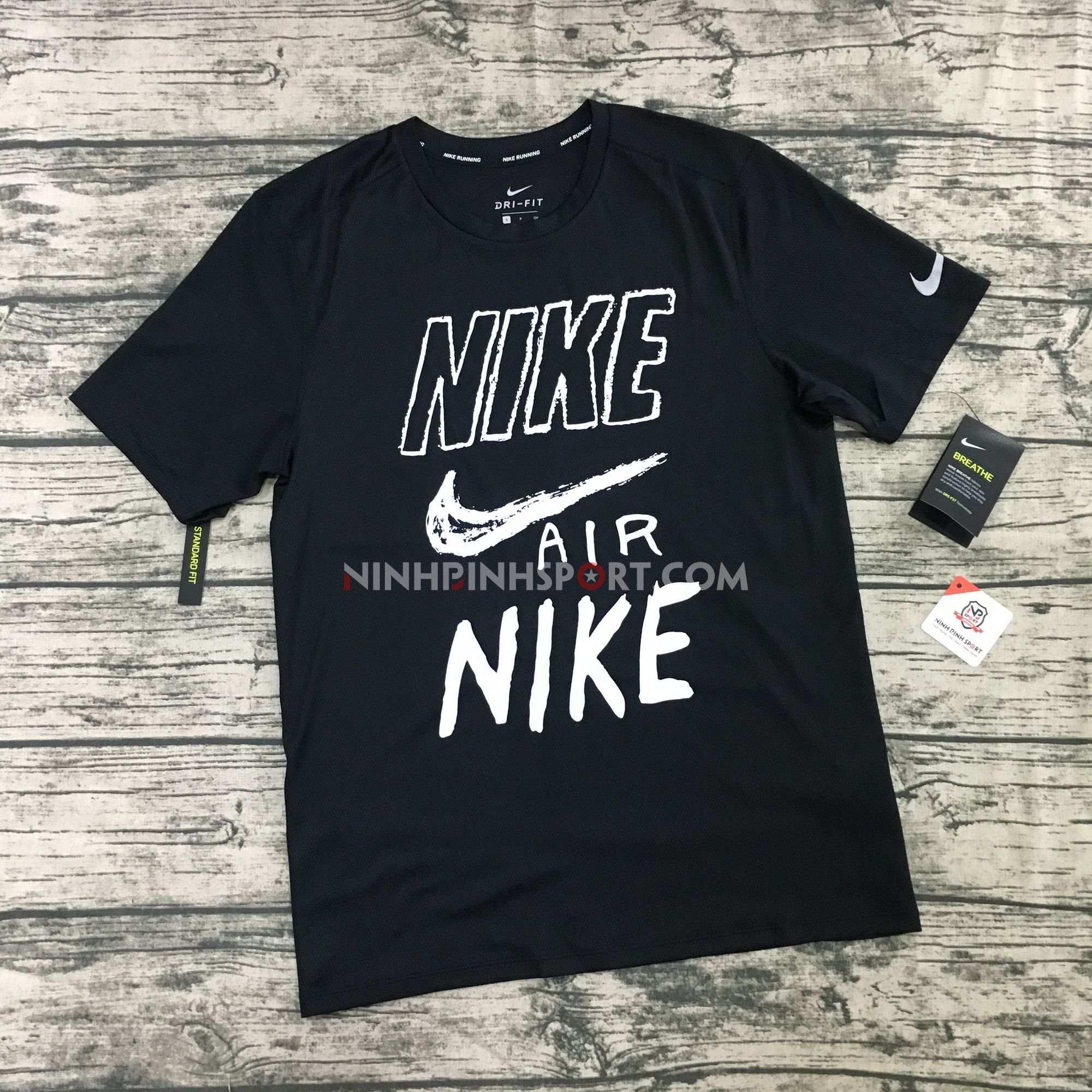 Áo thể thao nam Nike Breathe Dri-FIT Run AJ7585-010