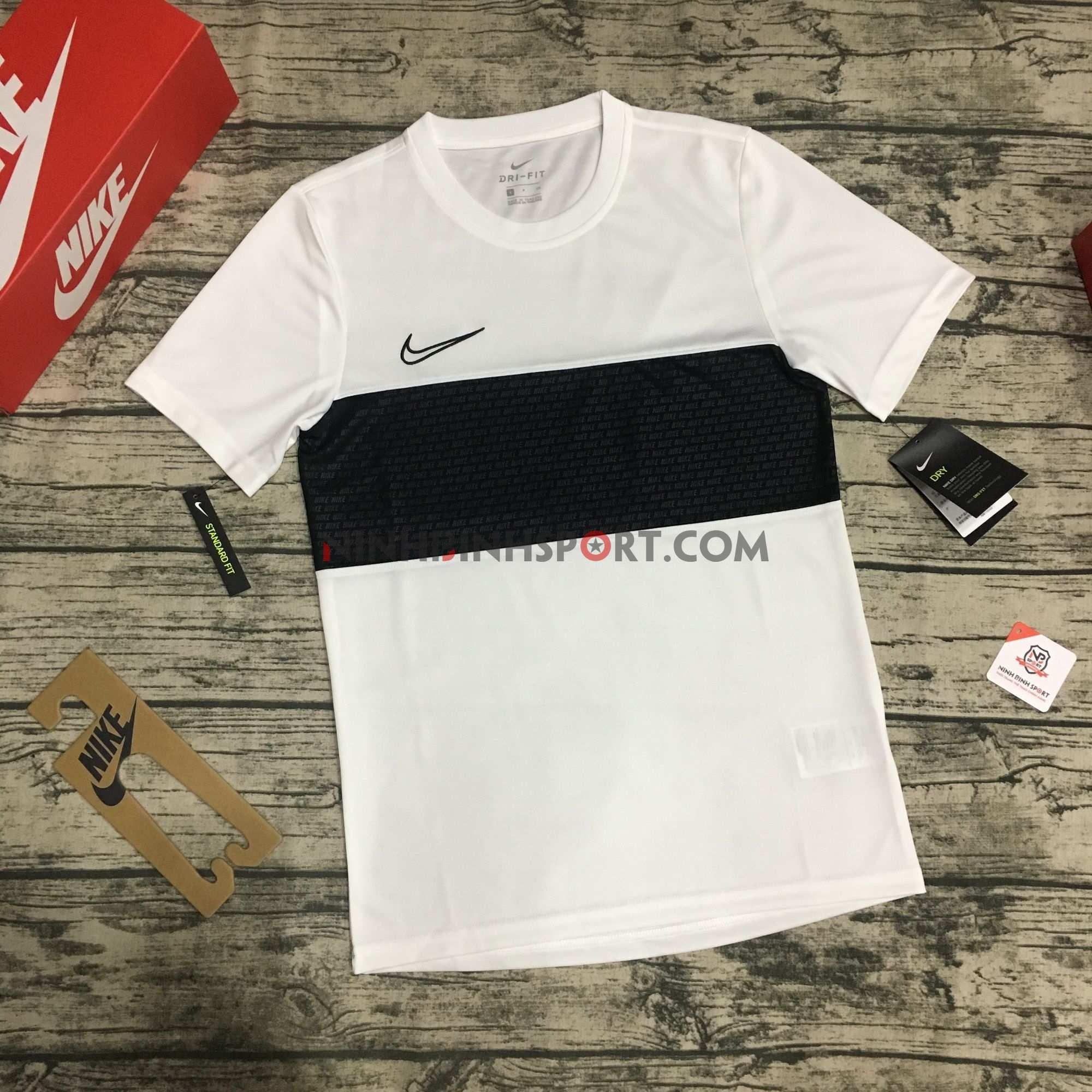 Áo thể thao nam Nike Dri-FIT Academy White AJ9999-100