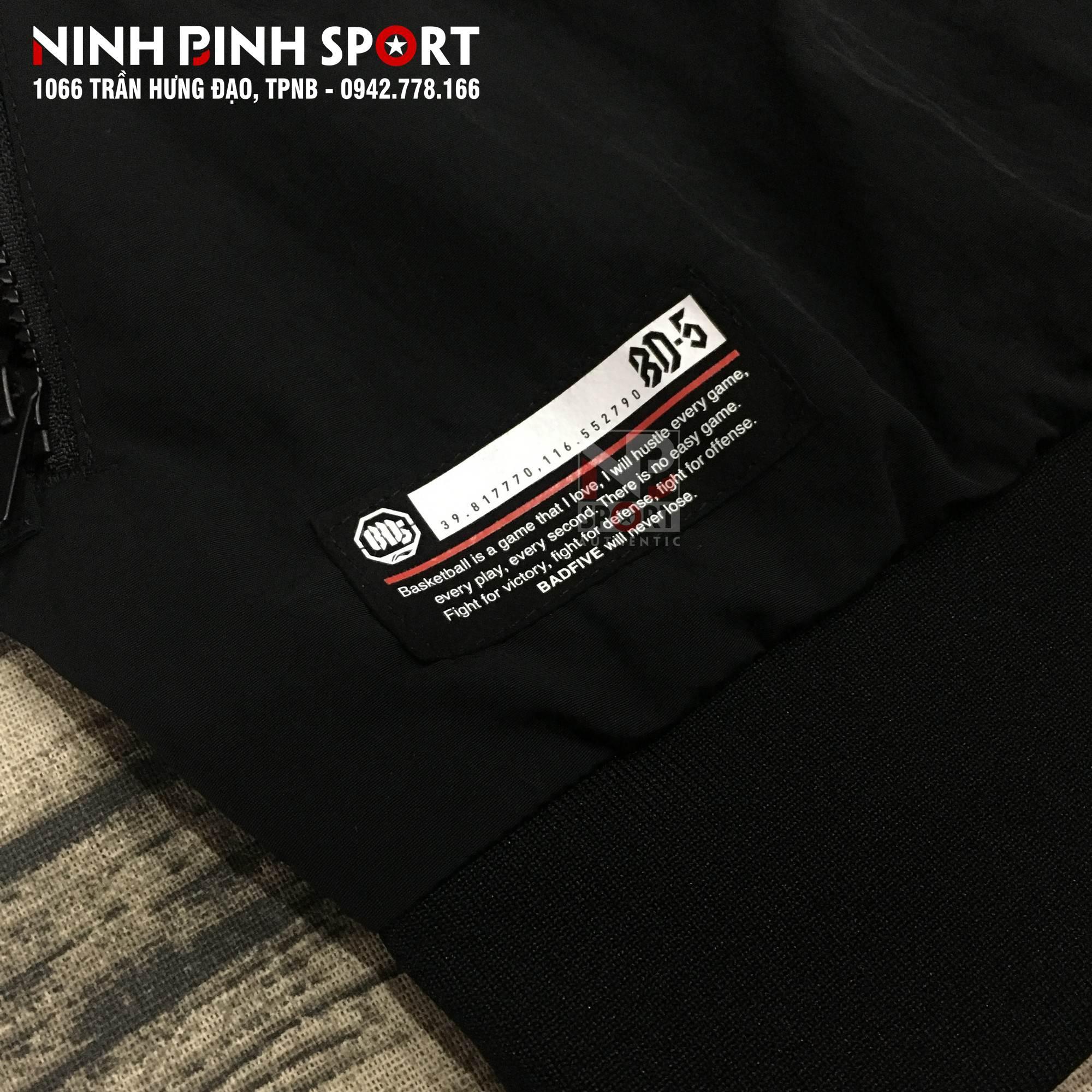 Áo khoác thể thao nam Lining AJDN017-3