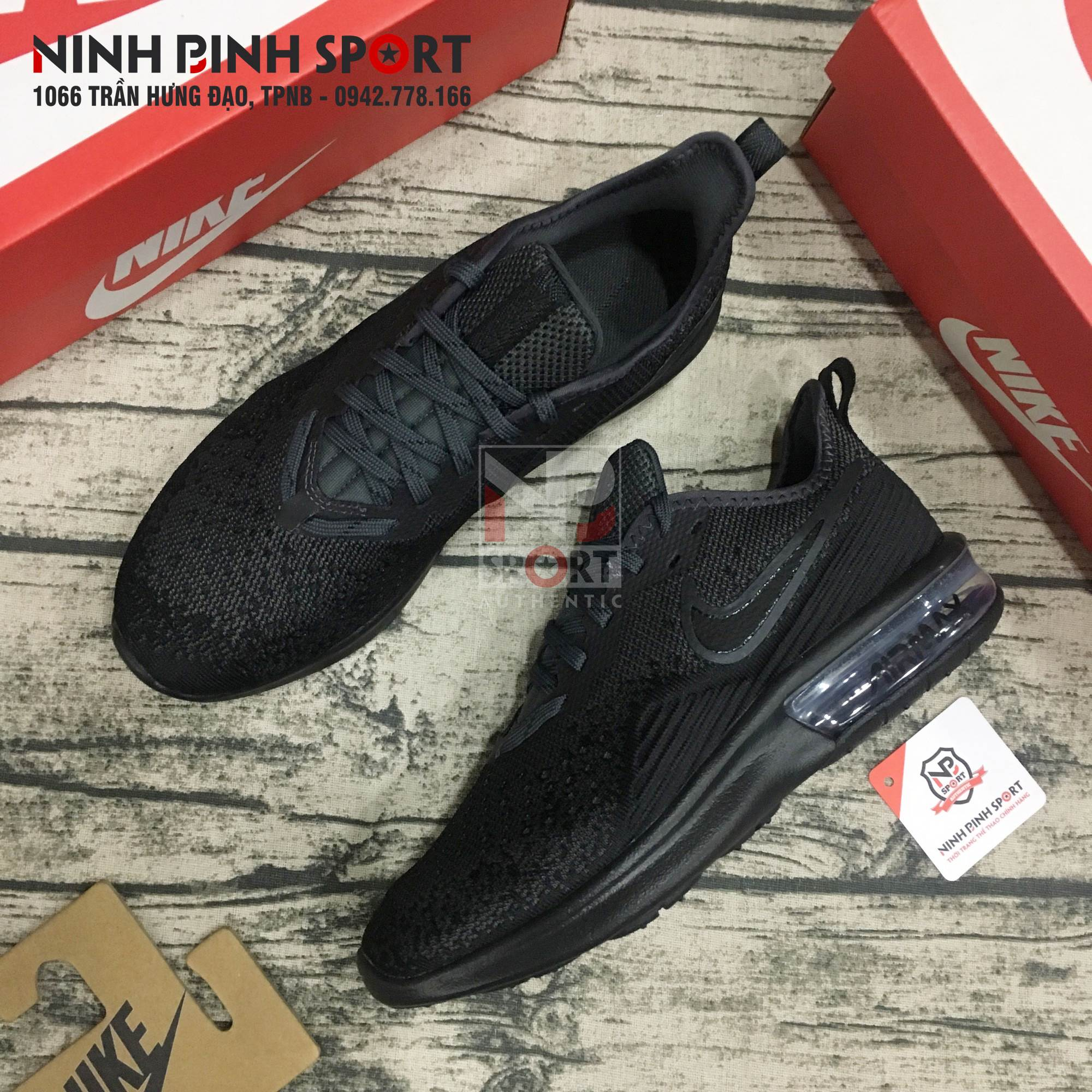 Giầy thể thao nam Nike Air Max Sequent 4 AO4485-002