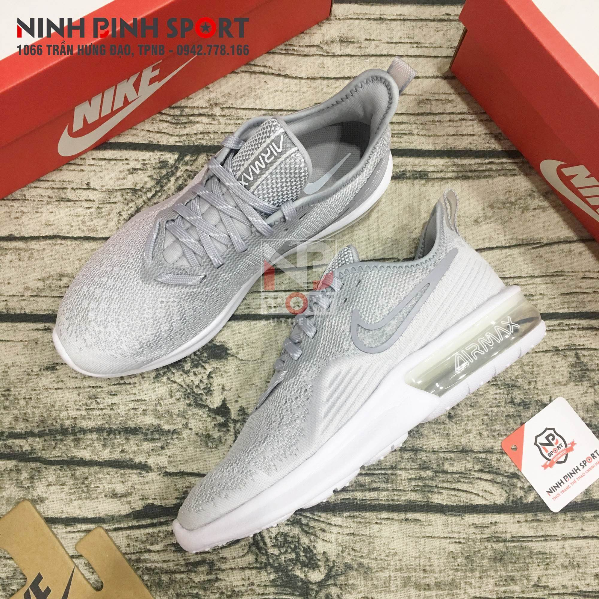 Giày thể thao nữ Nike Air Max Sequent 4 AO4486-100