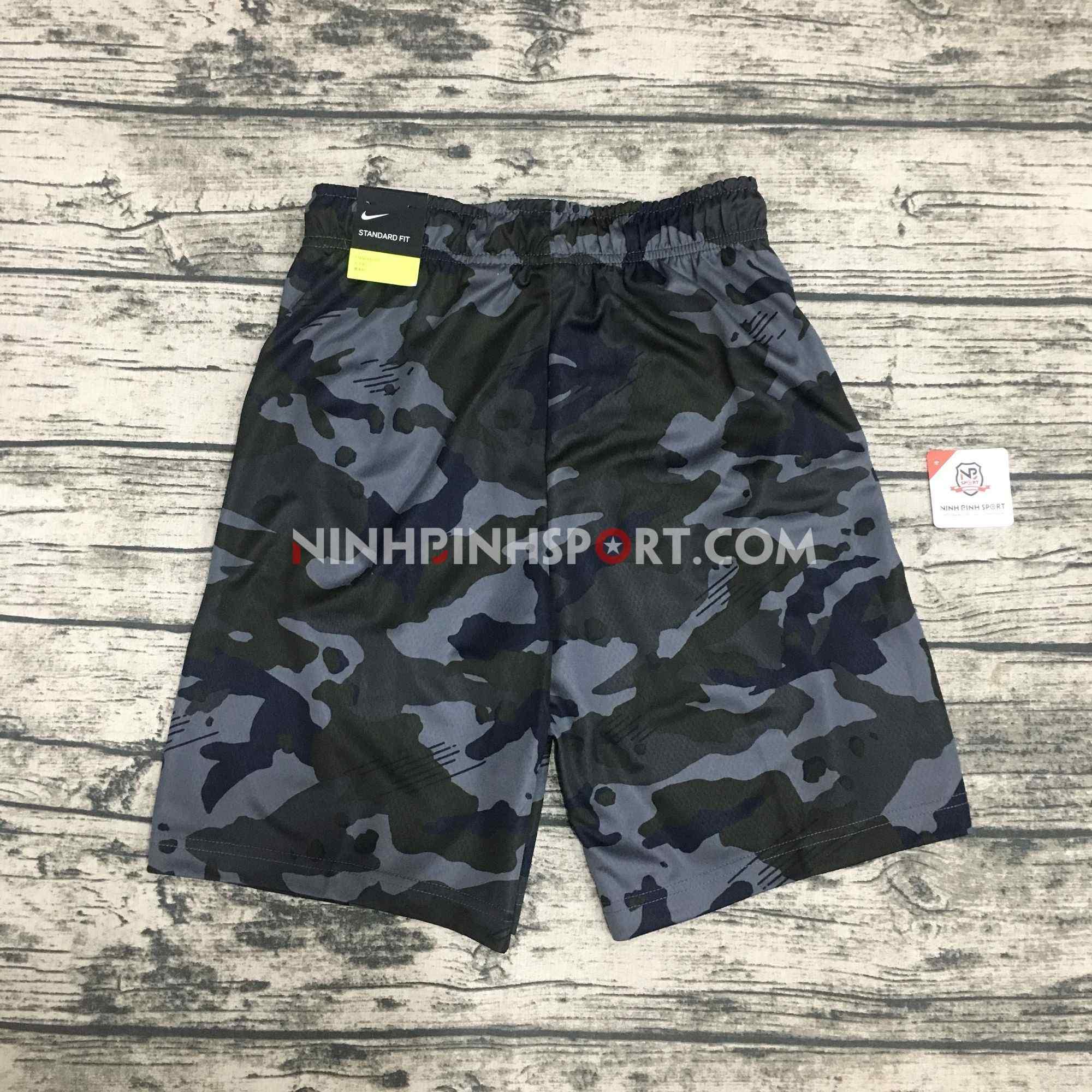 Quần thể thao nam Nike Dri-Fit Knit Camo AQ1145-060