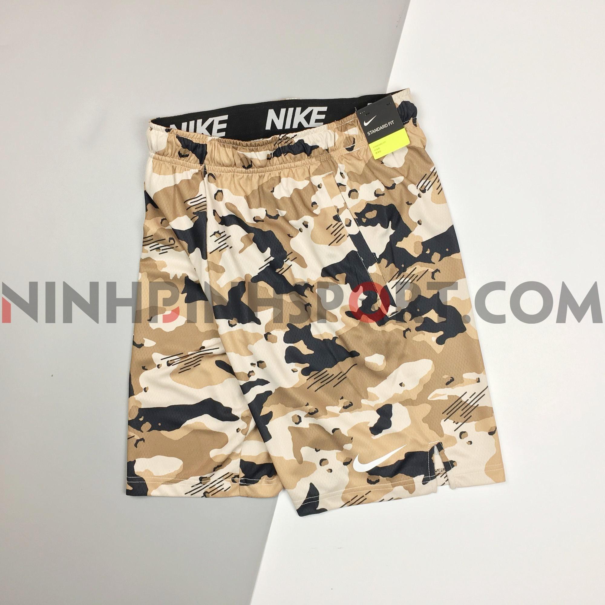 Quần thể thao nam Nike Dri-Fit Knit Camo AQ1145-254