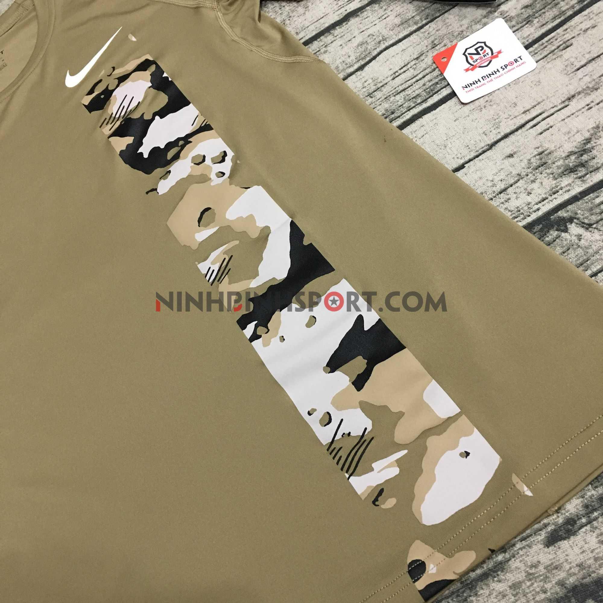 Áo thể thao nam Nike Pro Camo Top AQ1195-268