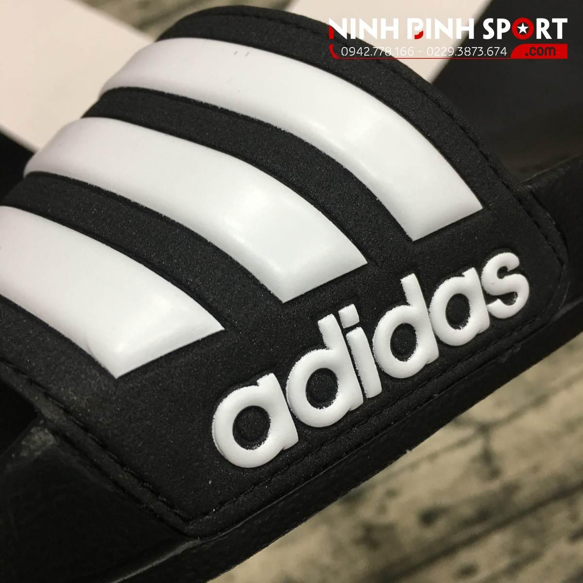 Dép Adidas Chinelo Cloudfoam Adilette Black AQ1701