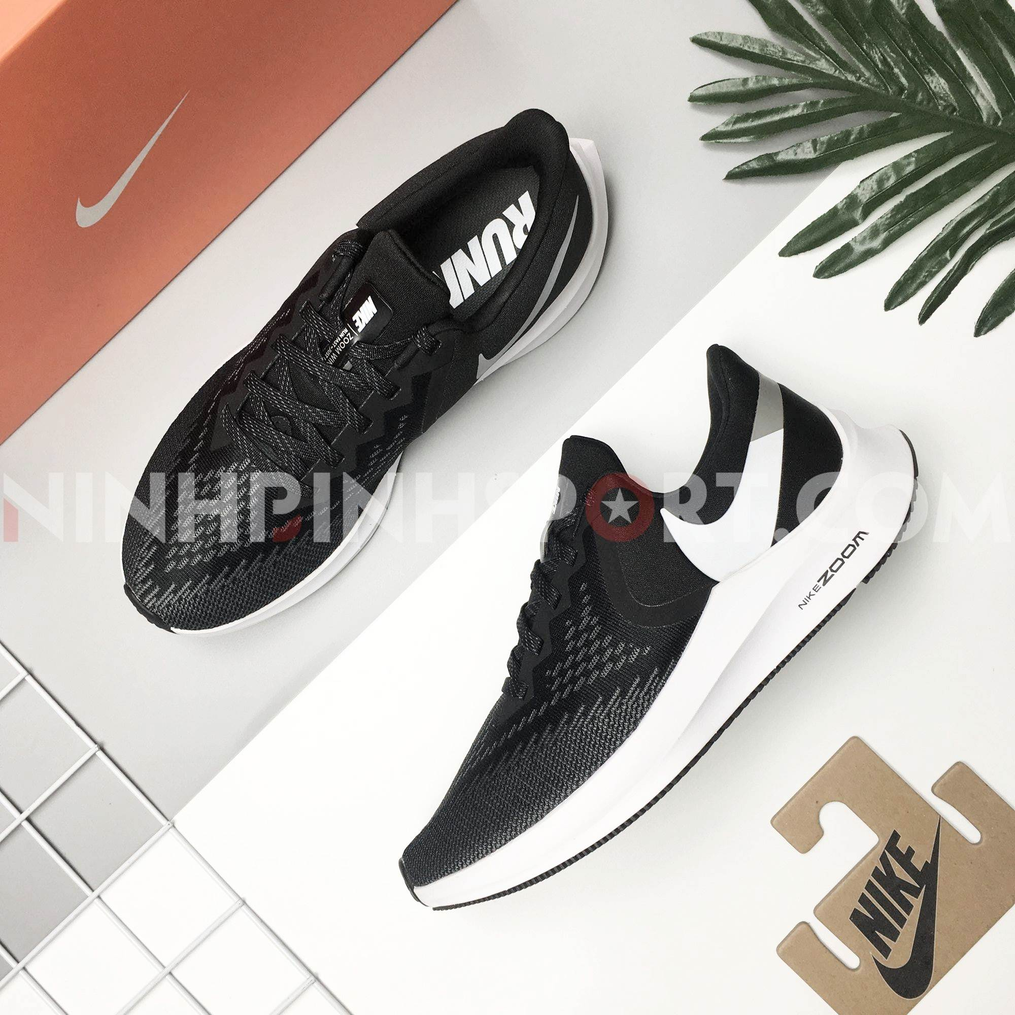 Giày thể thao nam Nike Zoom Winflo 6 Black AQ7497-001