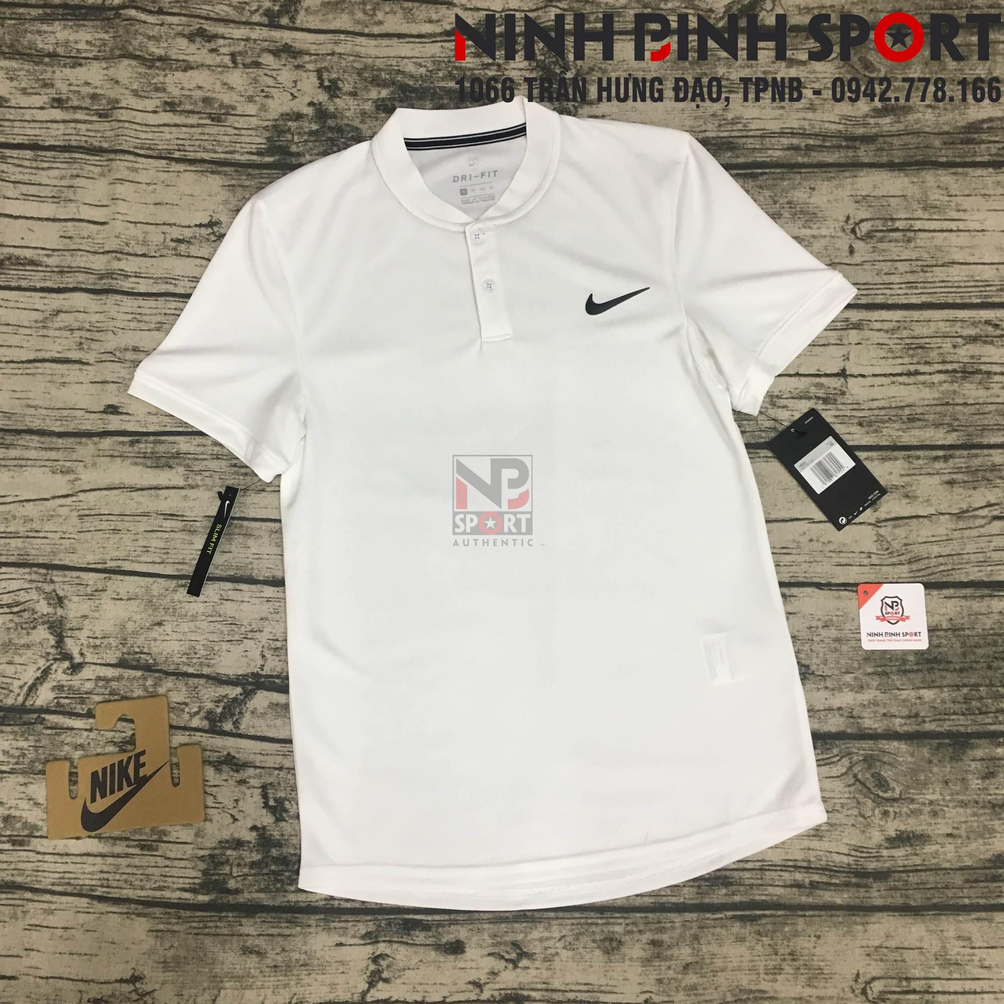 Áo thể thao nam Nike AS Dry Polo Blade White AQ7733-100