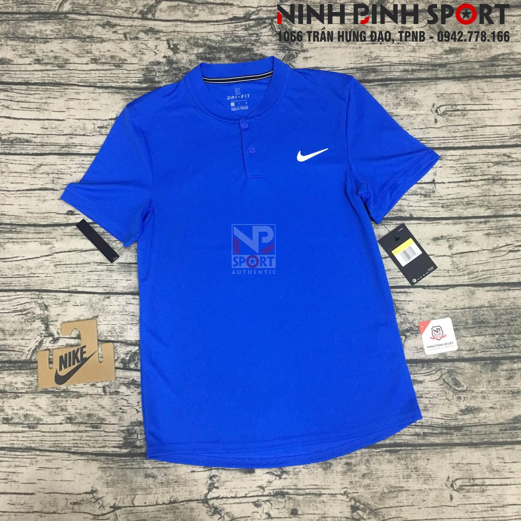 Áo thể thao nam Nike AS Dry Polo Blade Blue AQ7733-403