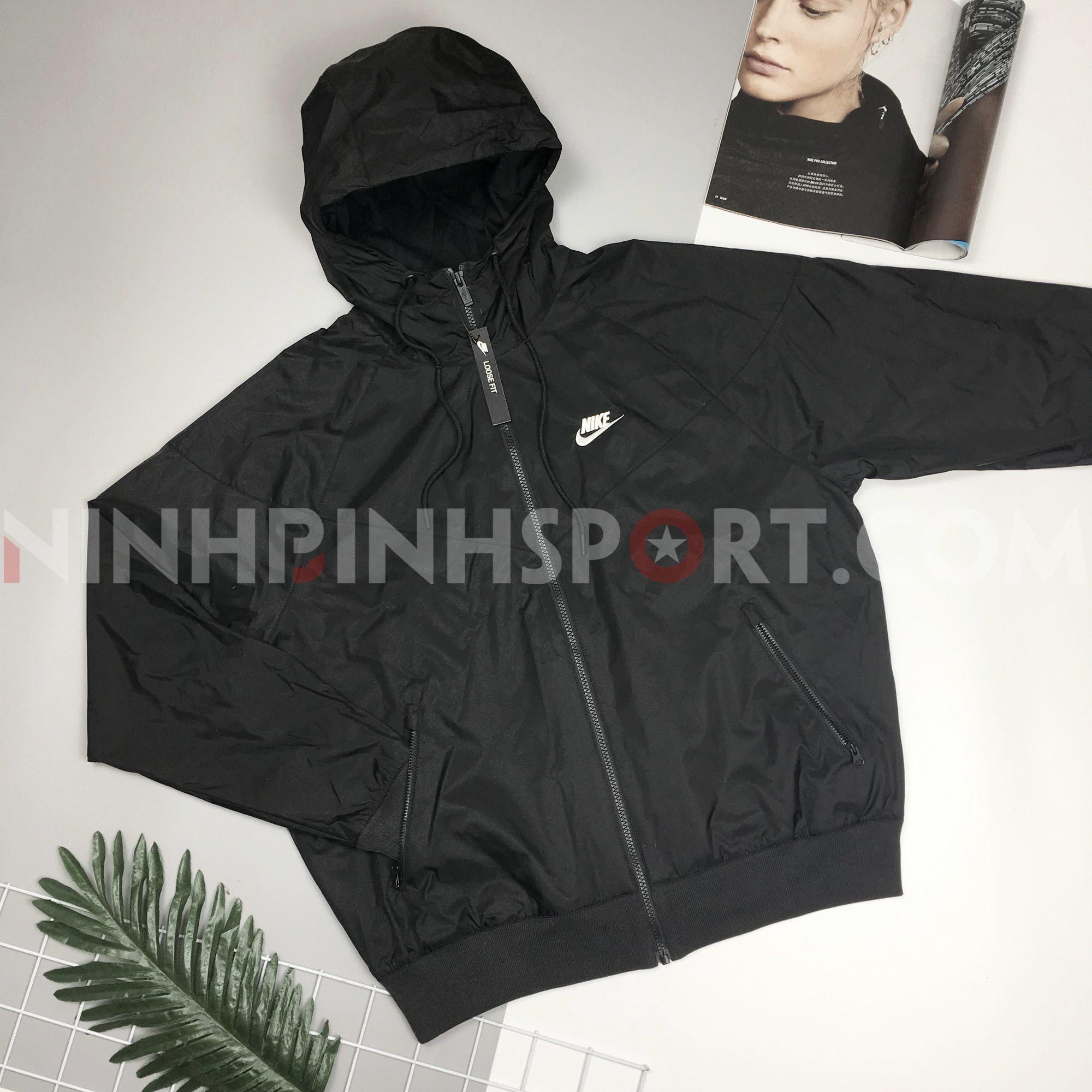 Áo thể thao nam Nike Sportswear Windrunner Hooded Jacket AR2192-010