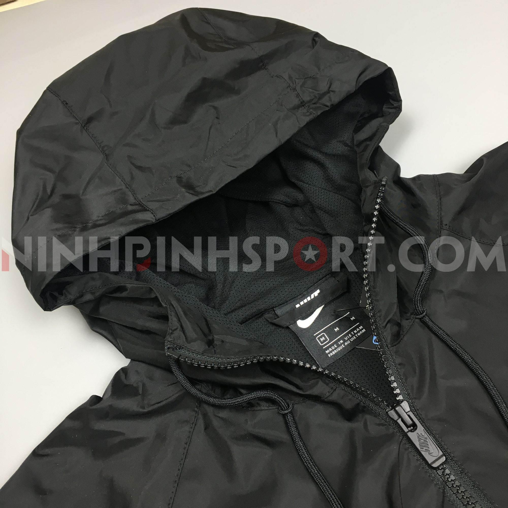 Áo khoác thể thao nam Nike Sportswear Windrunner Hooded AR2192-010