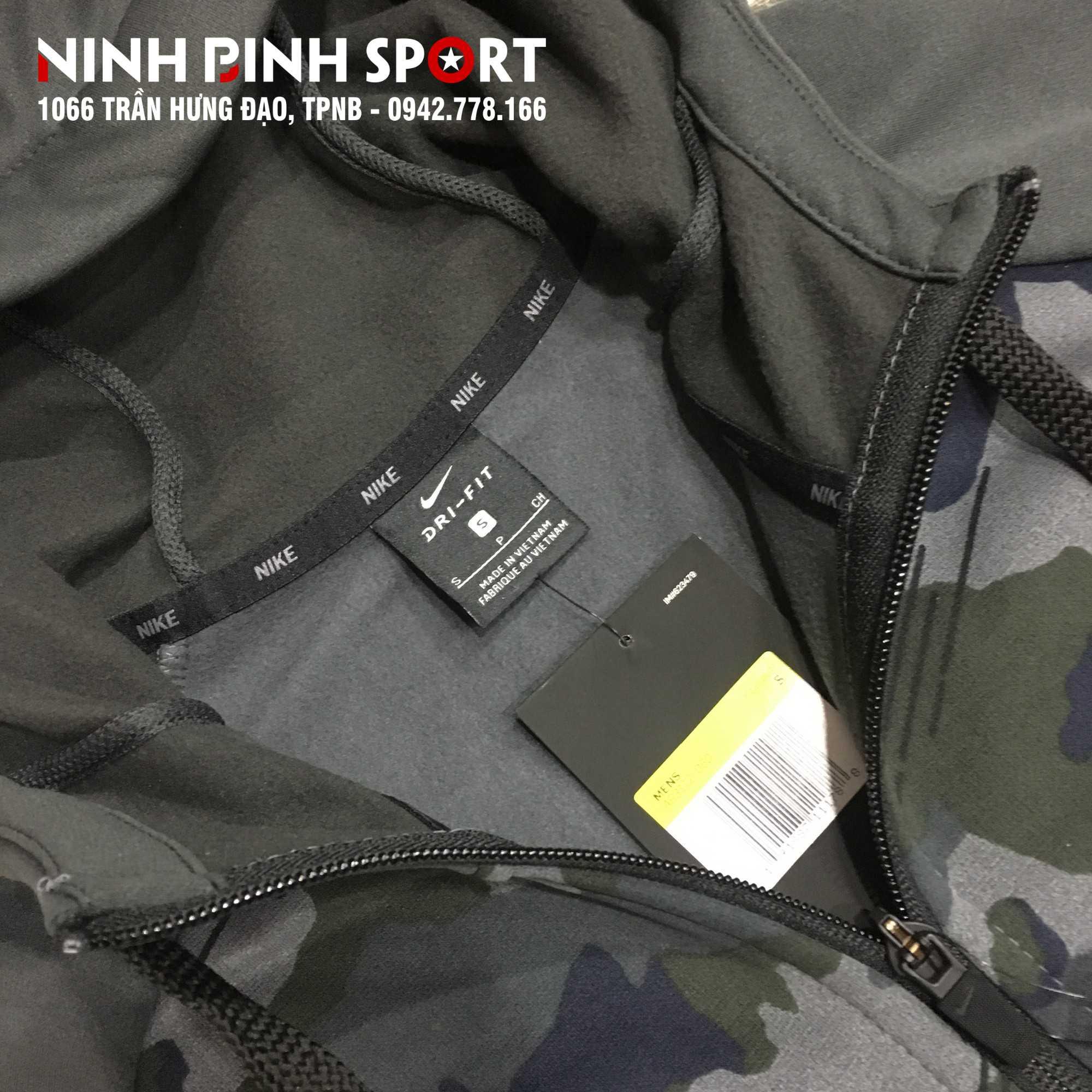 Áo khoác thể thao nam Nike Therma Camo AR3112-060