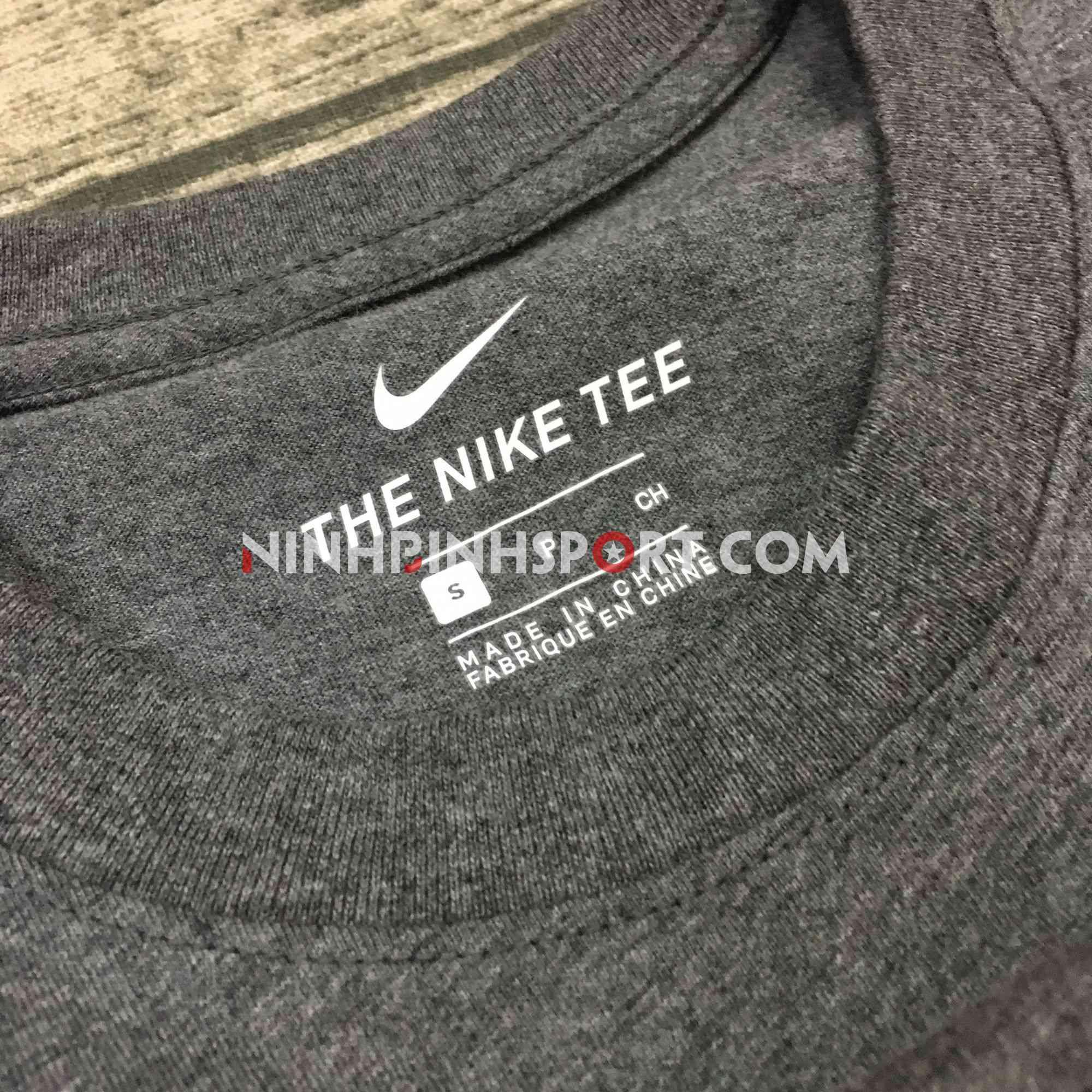 Áo thể thao nam Nike Sportswear Camo Grey AR4996-071