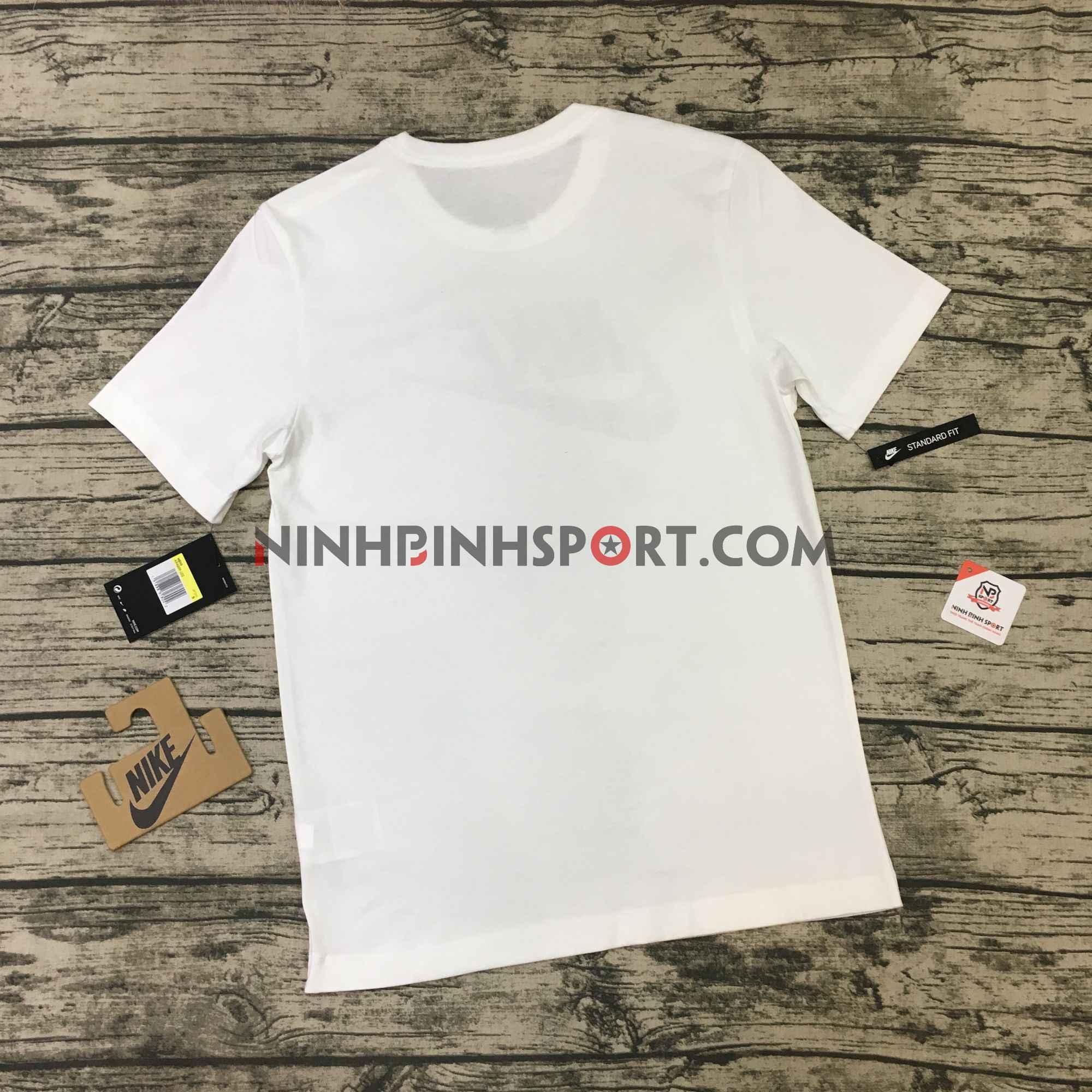 Áo thể thao nam Nike Sportswear Camo White AR4996-100