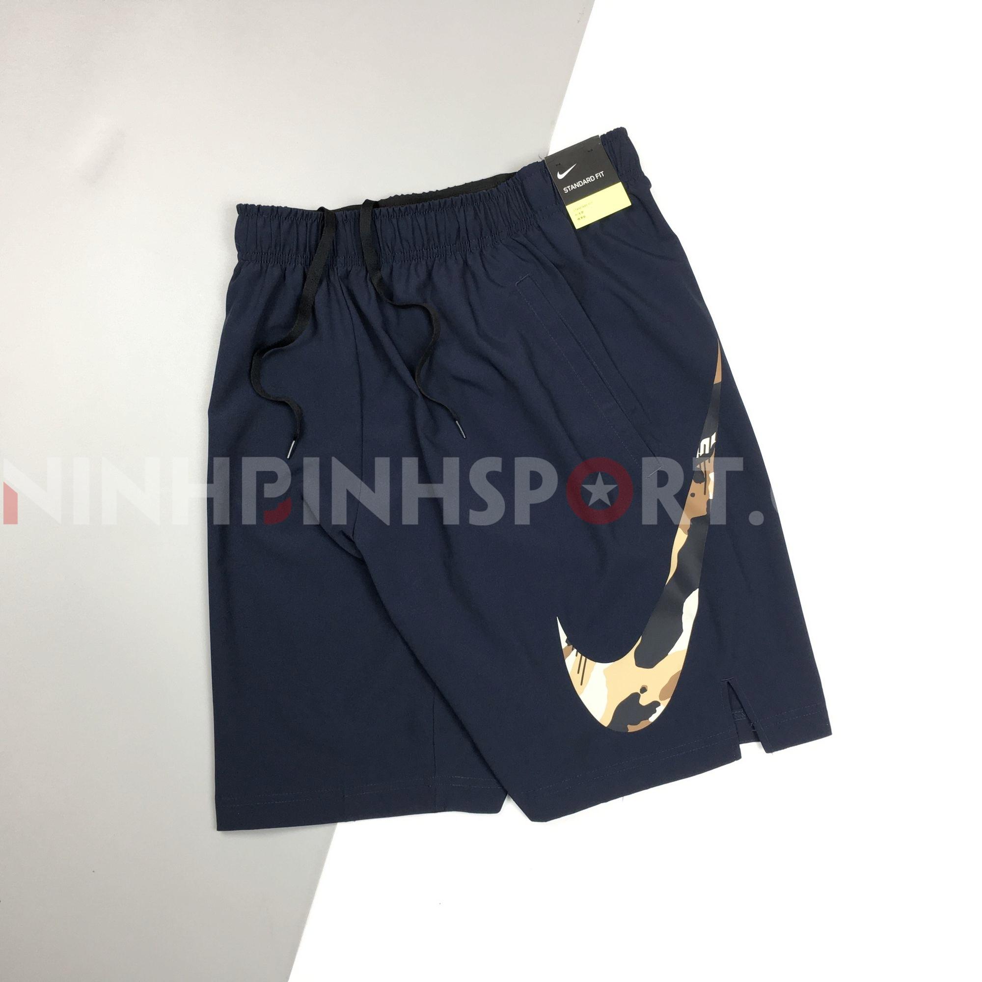 Quần thể thao nam Nike Dri-Fit Flex 2L Camo Conavy AT3368-451