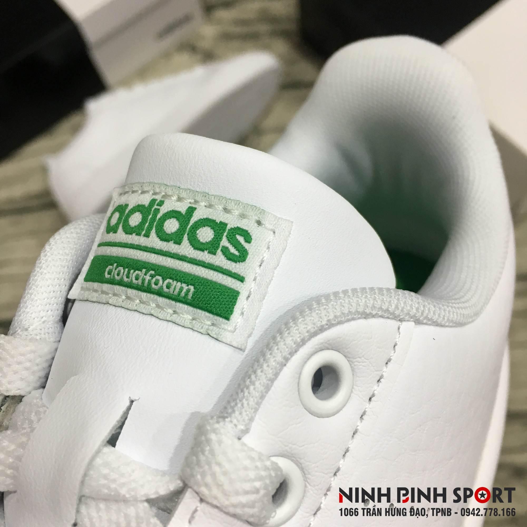 Giầy thể thao nam Adidas Neo Cloudfoam Advantage Clean AW3914