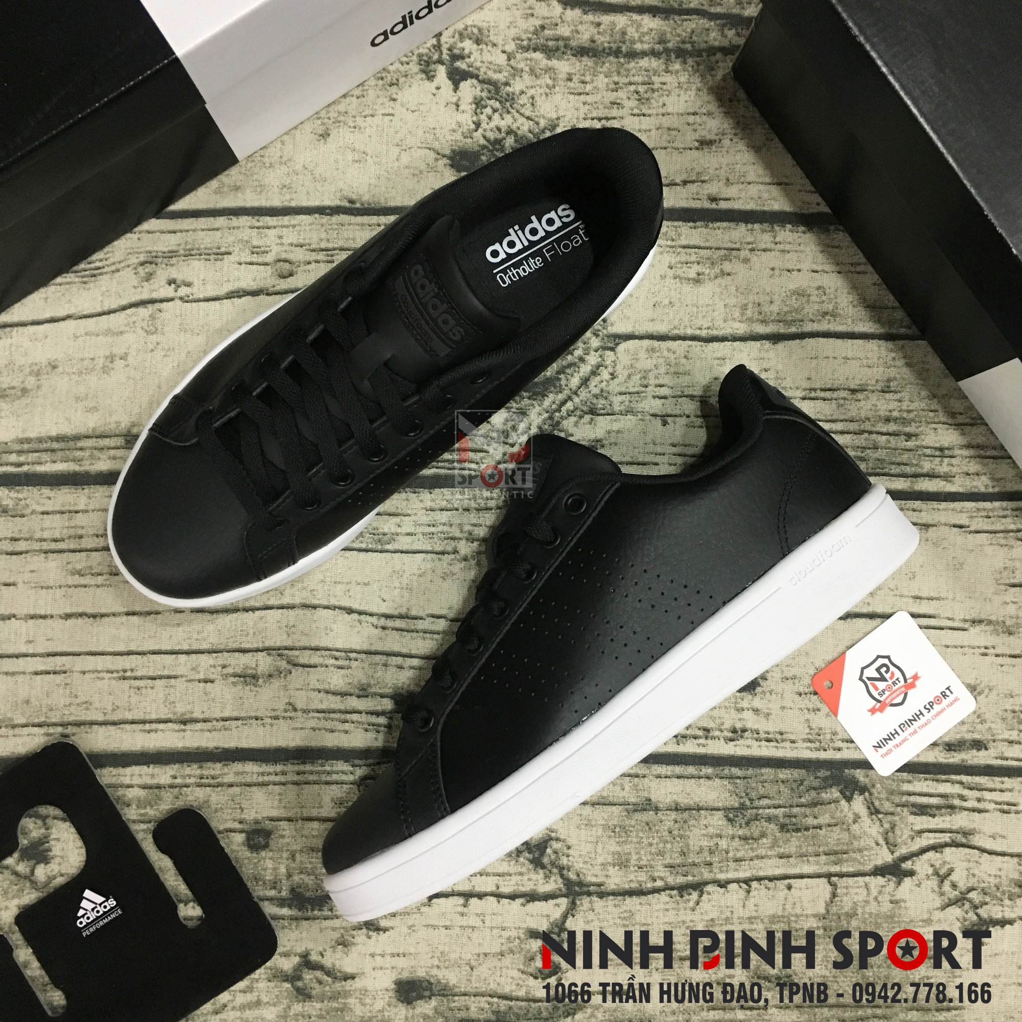 Giày thể thao nam Adidas Neo Cloudfoam Advantage Clean AW3915