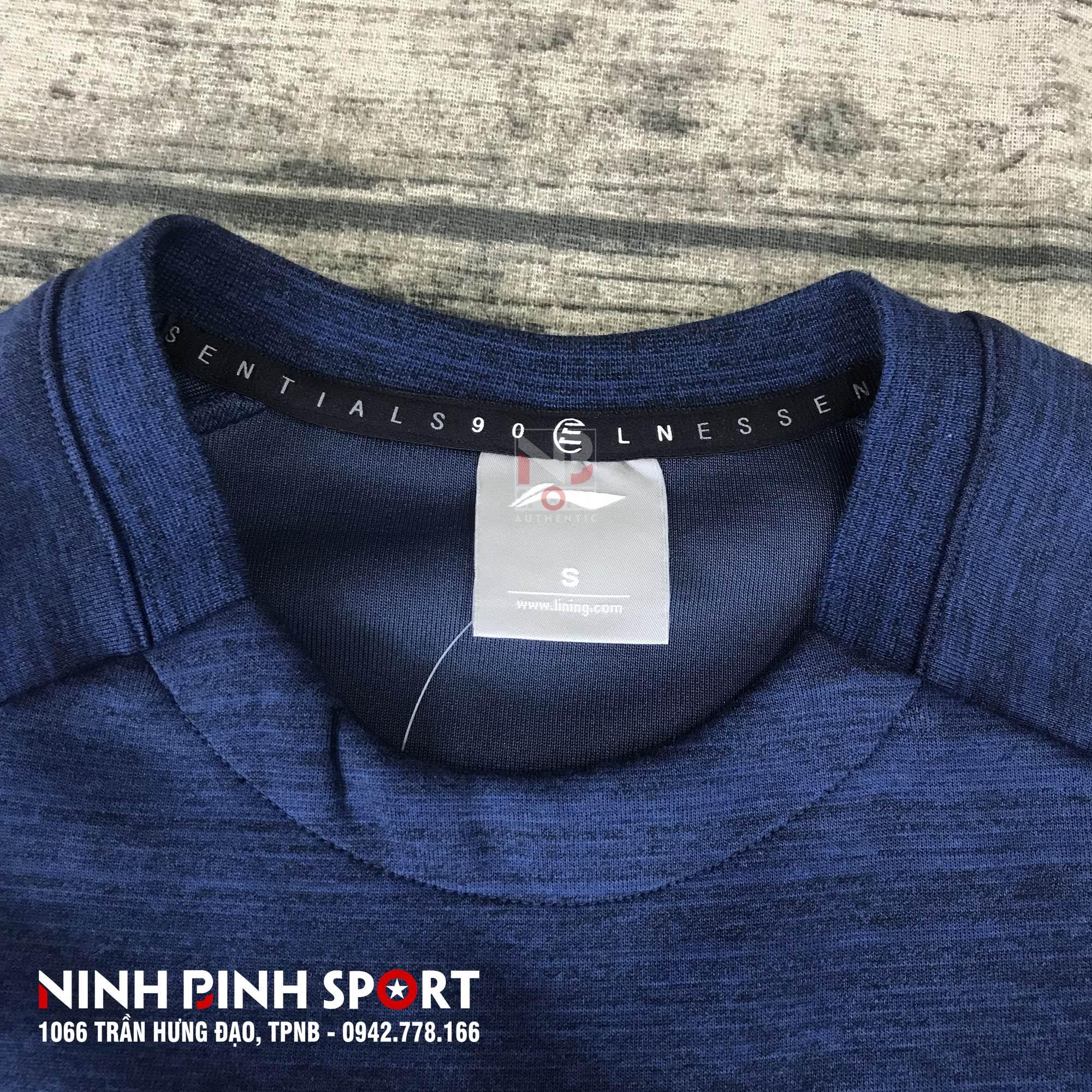 Áo dài tay nam Lining AWDN325-2