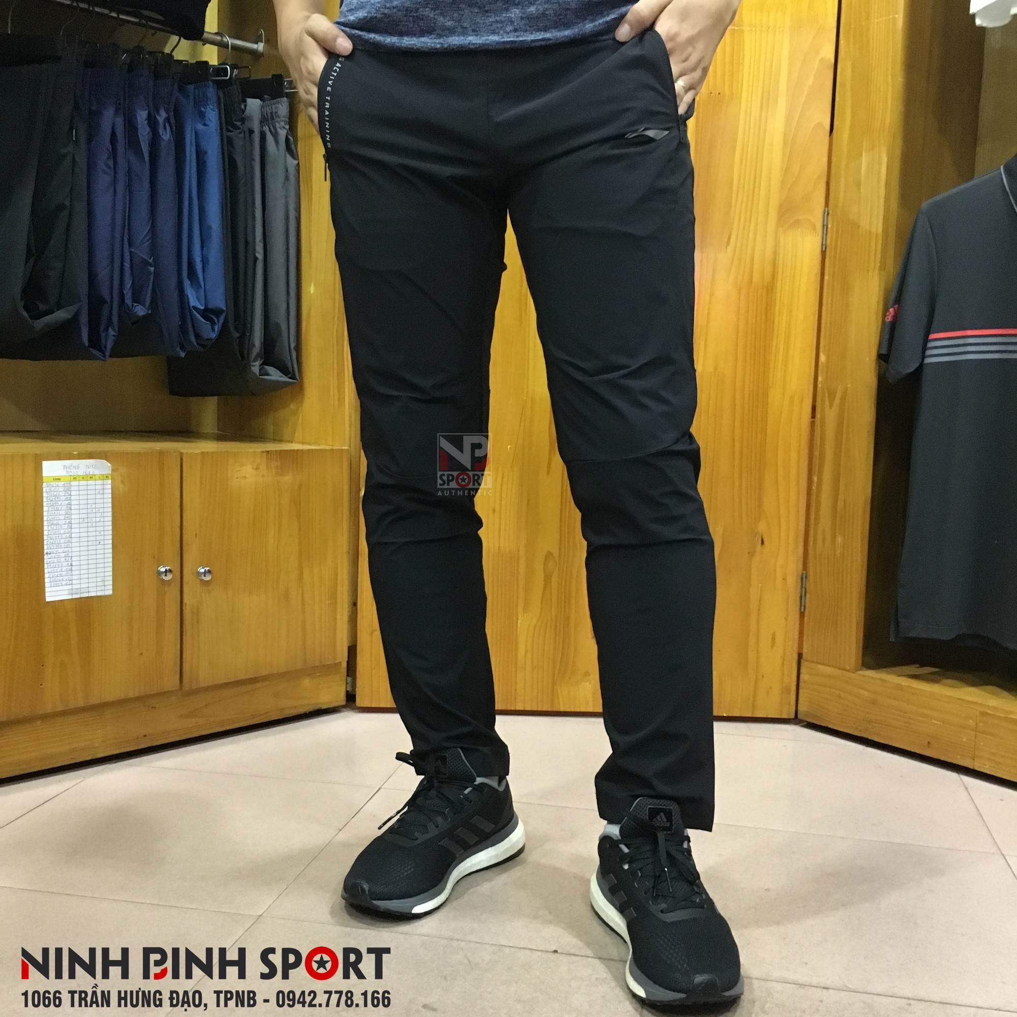 Quần thể thao nam Lining AYKN127-1