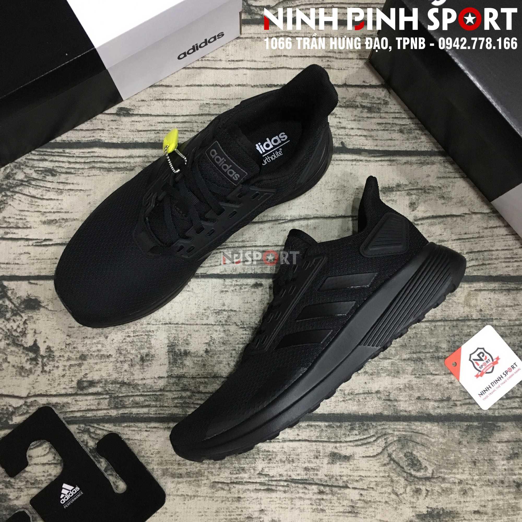 Giầy thể thao nam Adidas Duramo 9 Black B96578