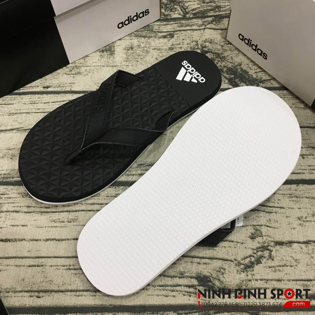 Tông Adidas Eezay Flip Flop Black Nam BB0507