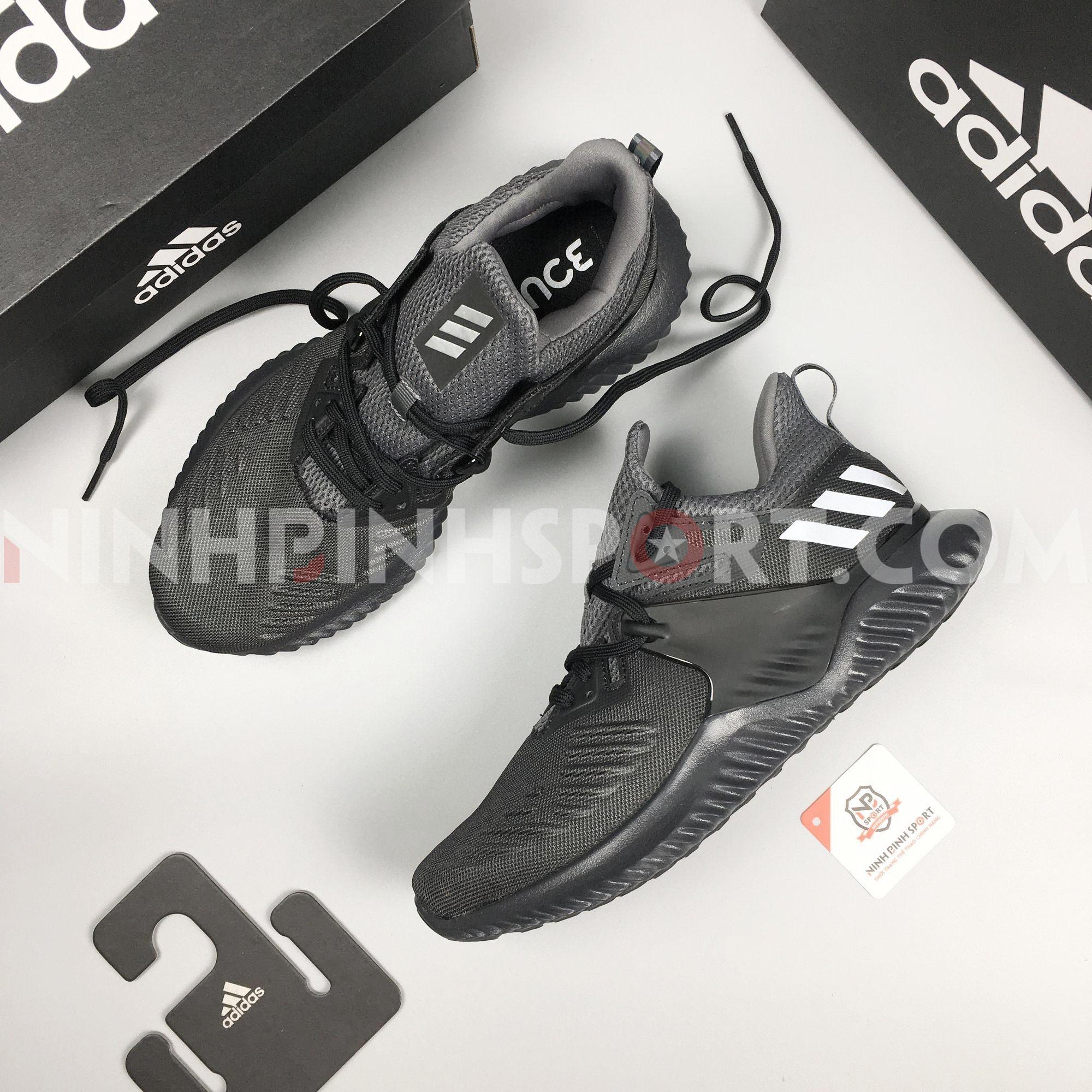 Giầy thể thao nam Adidas Alphabounce Beyond Black BB7568