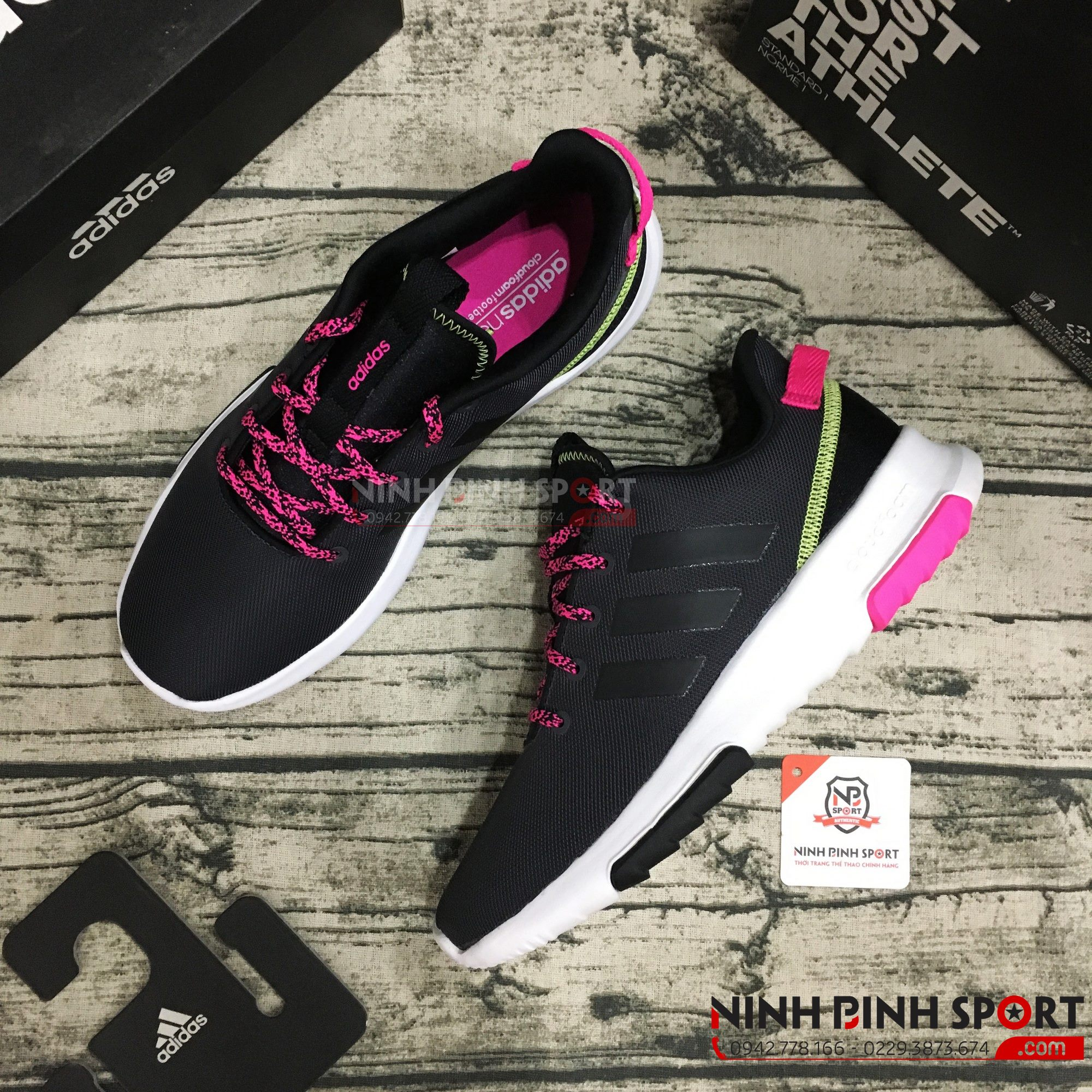 Giày Adidas Neo Cloudfoam Race TR BC0055