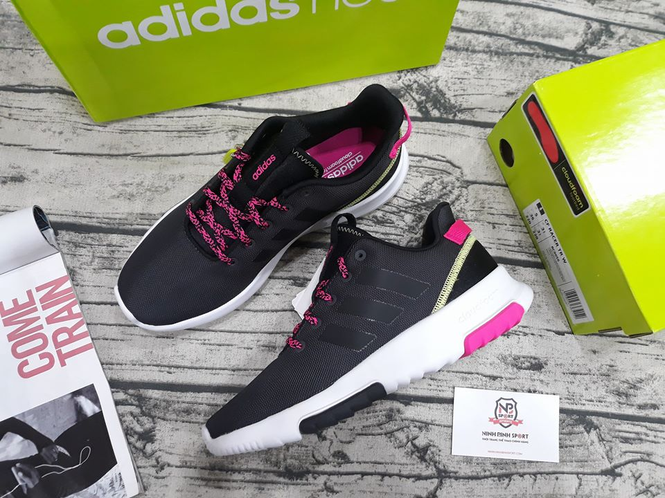 Giầy thể thao nữ Adidas Neo Cloudfoam Race TR BC0055