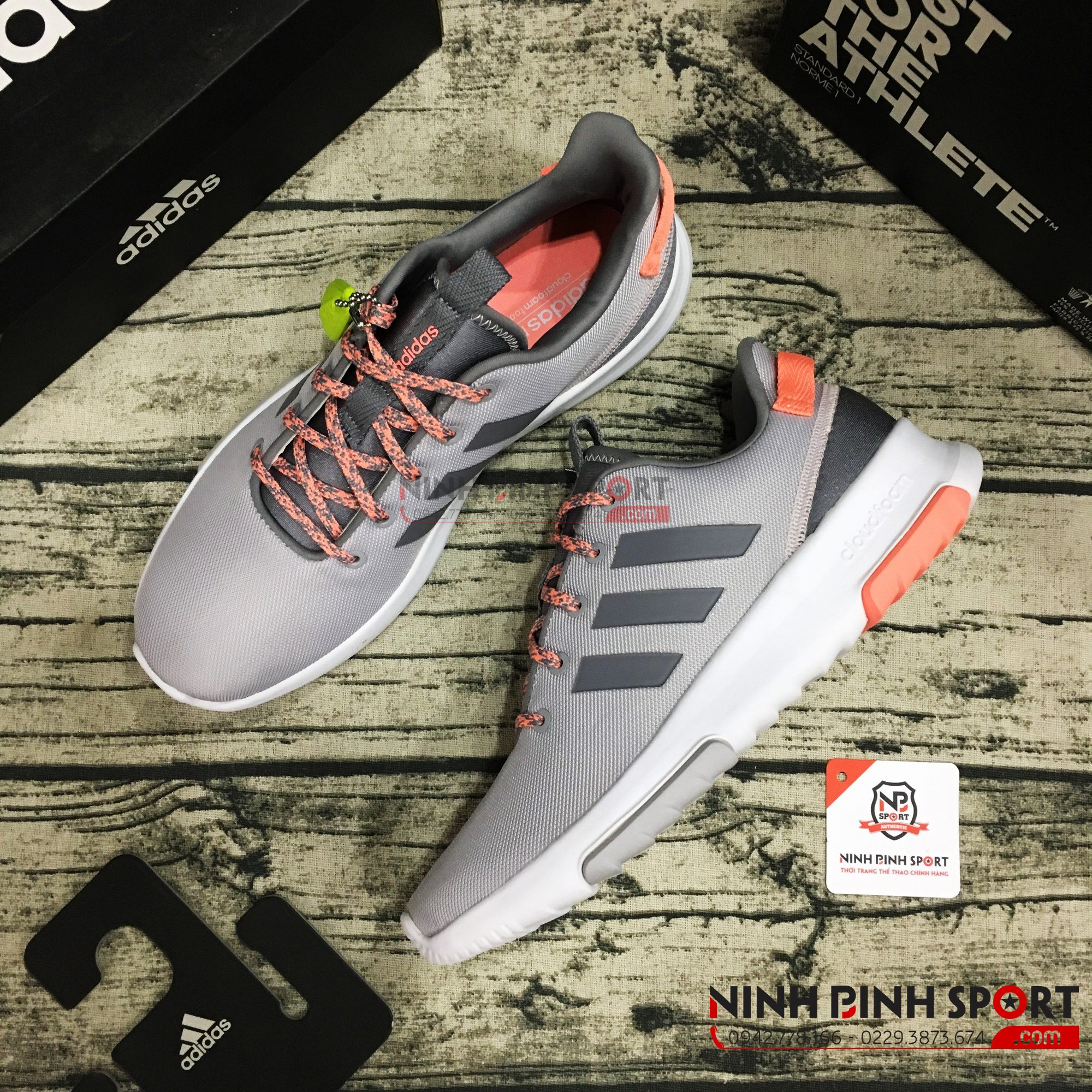 Giầy Adidas Neo Cloudfoam Race TR BC0056