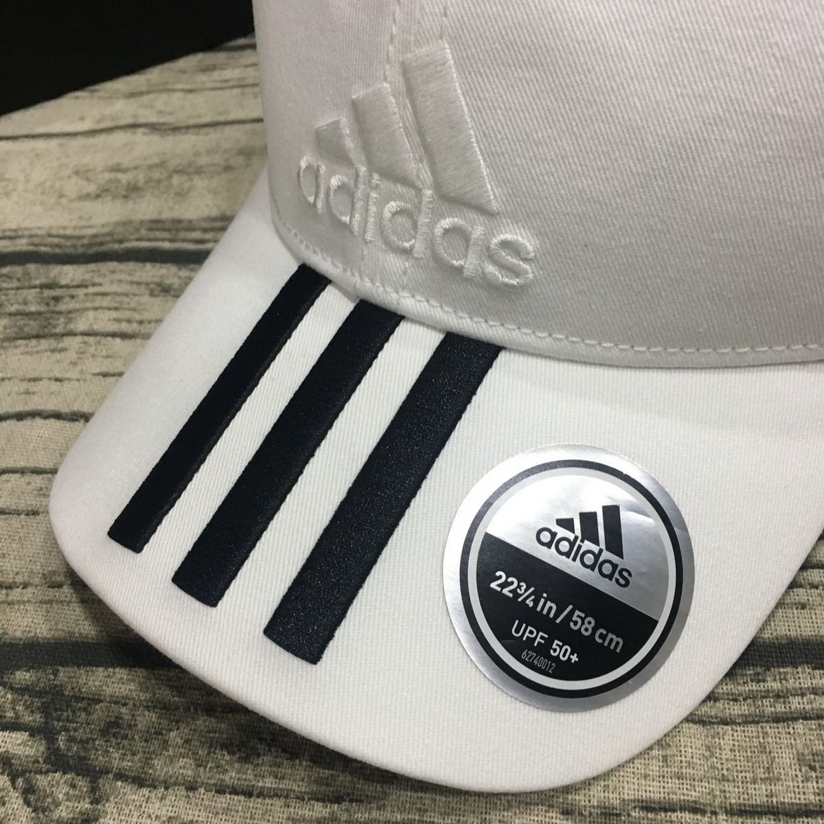 Mũ Adidas Six-Panel Classic 3-Stripes Cap - White BK0806