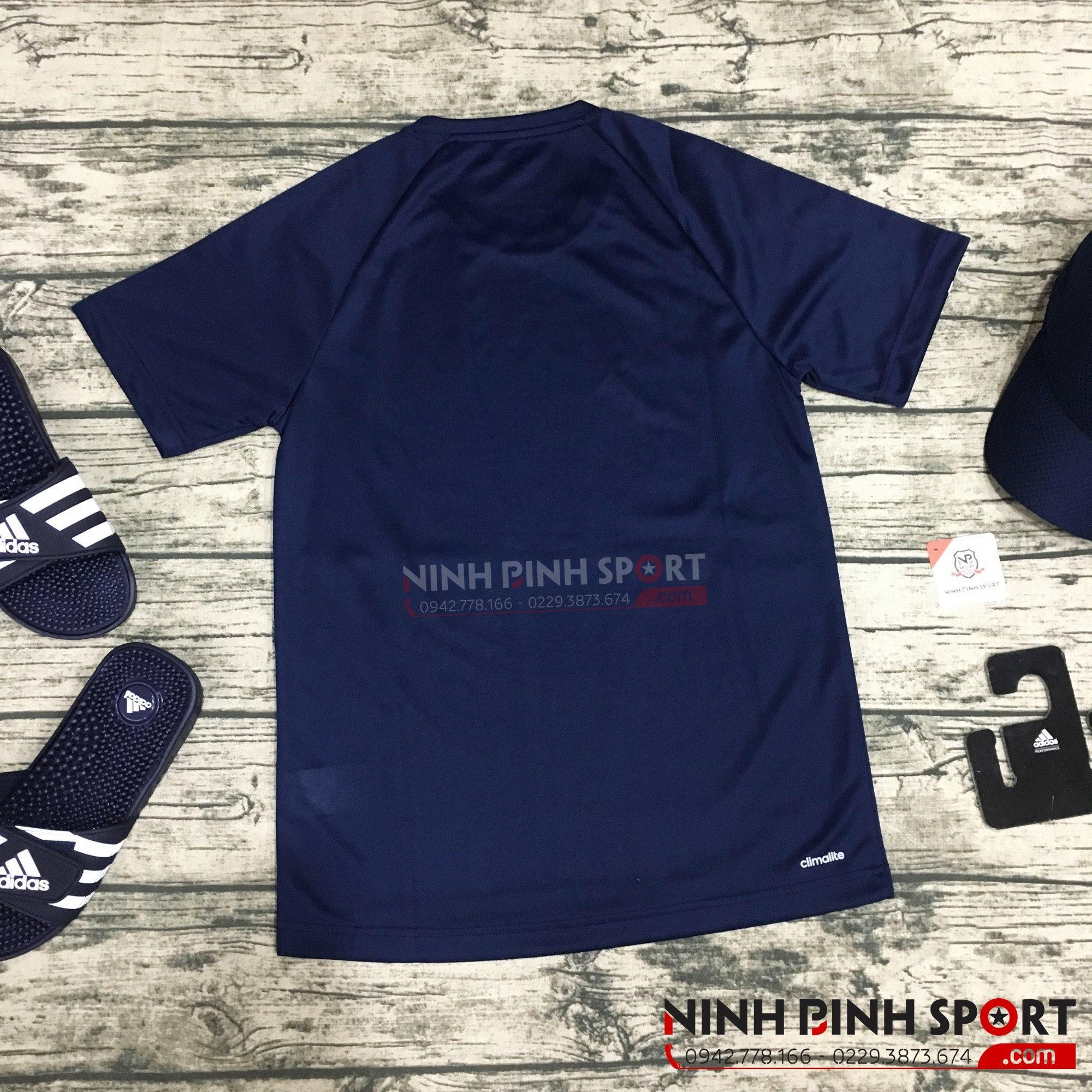 Áo thể thao nam Adidas D2M 3-Stripes BK0969
