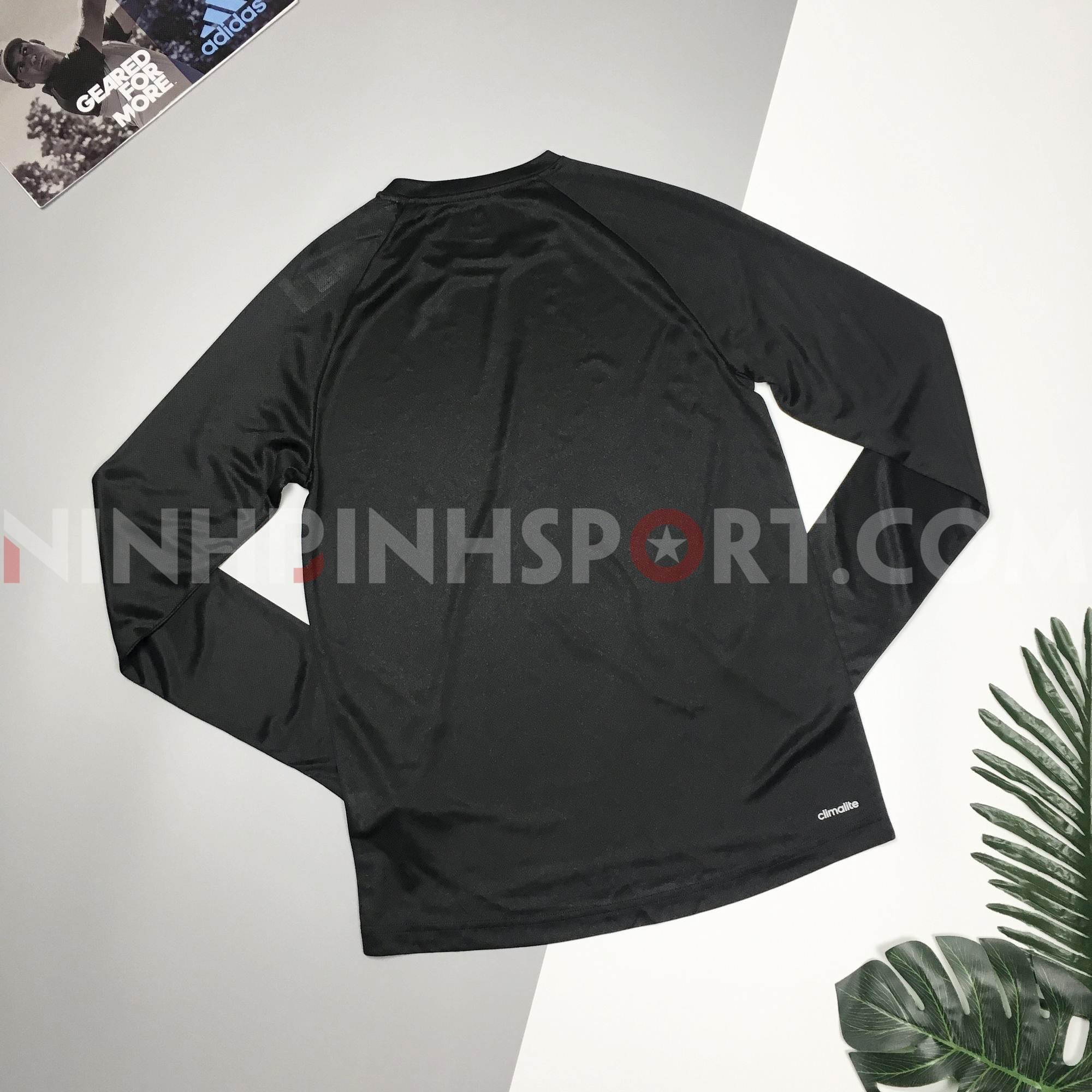 Áo dài tay nam Adidas Move Long Sleeve Black BK0975