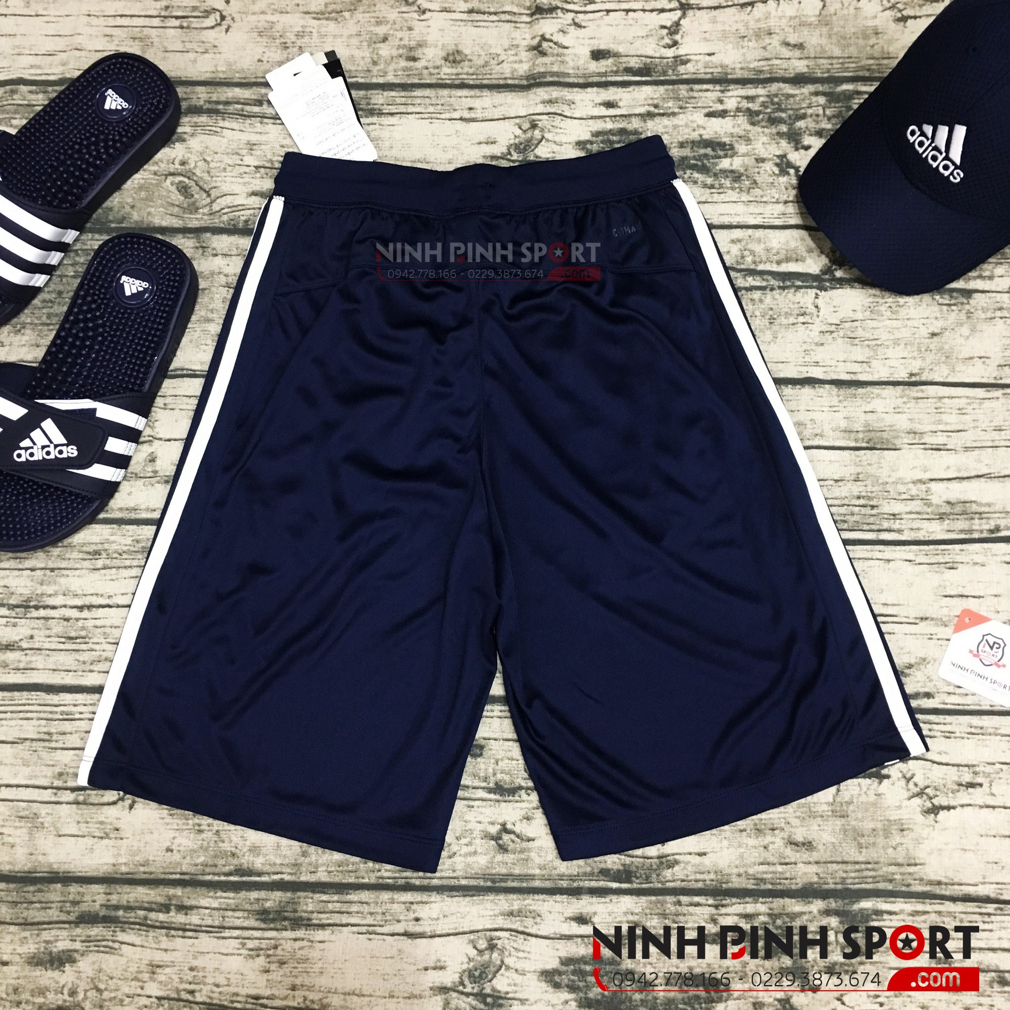 Quần thể thao nam Adidas D2M 3-Stripes BR1461