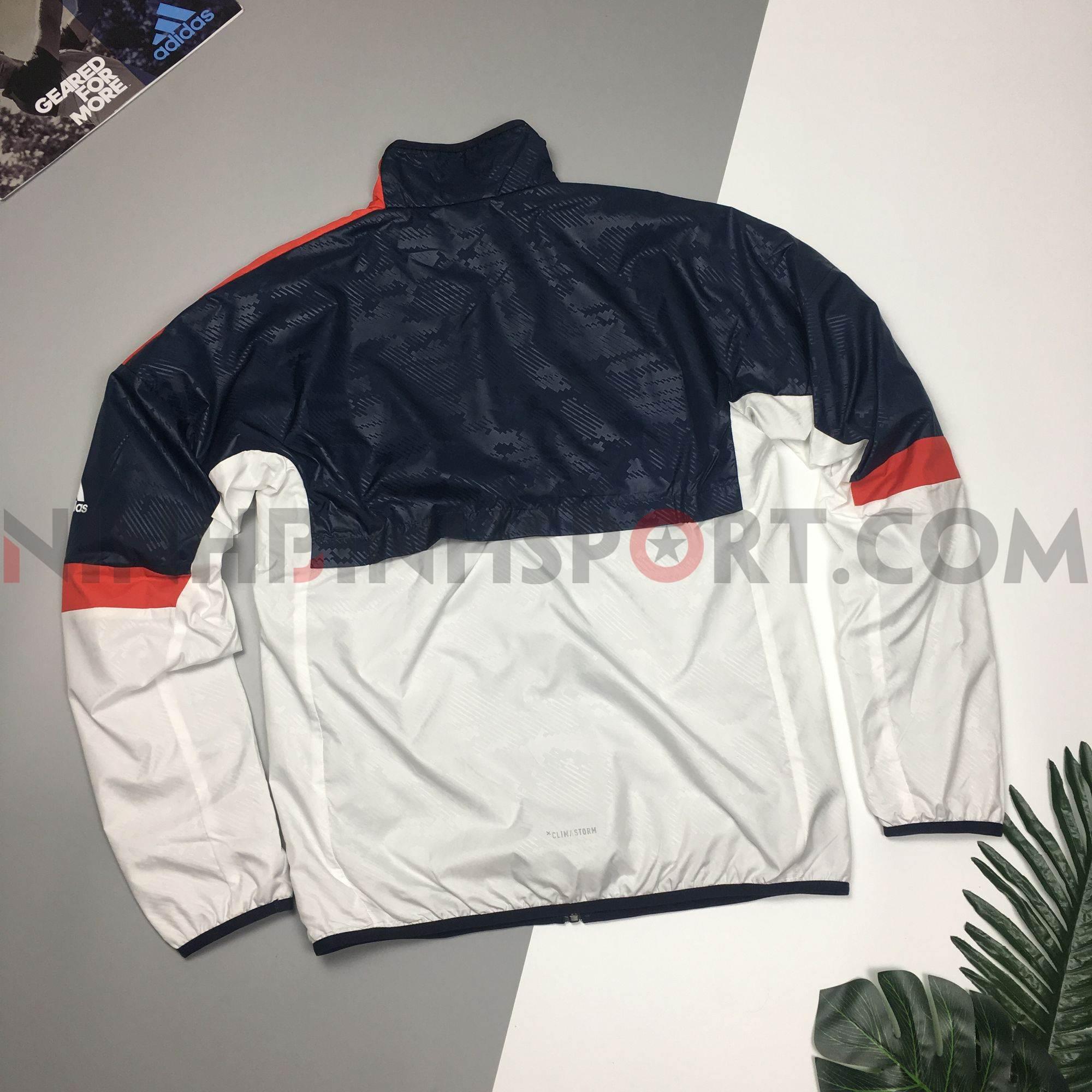 Áo khoác thể thao nam Adidas Graphic Windbreaker BS0159