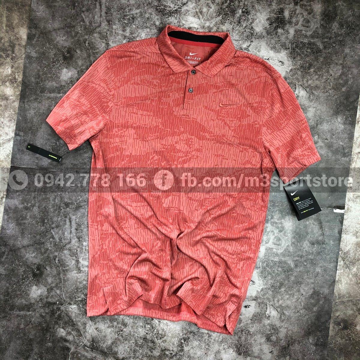 Áo thể thao nam Nike golf Polo Dri-Fit Vapor Camo BV0479